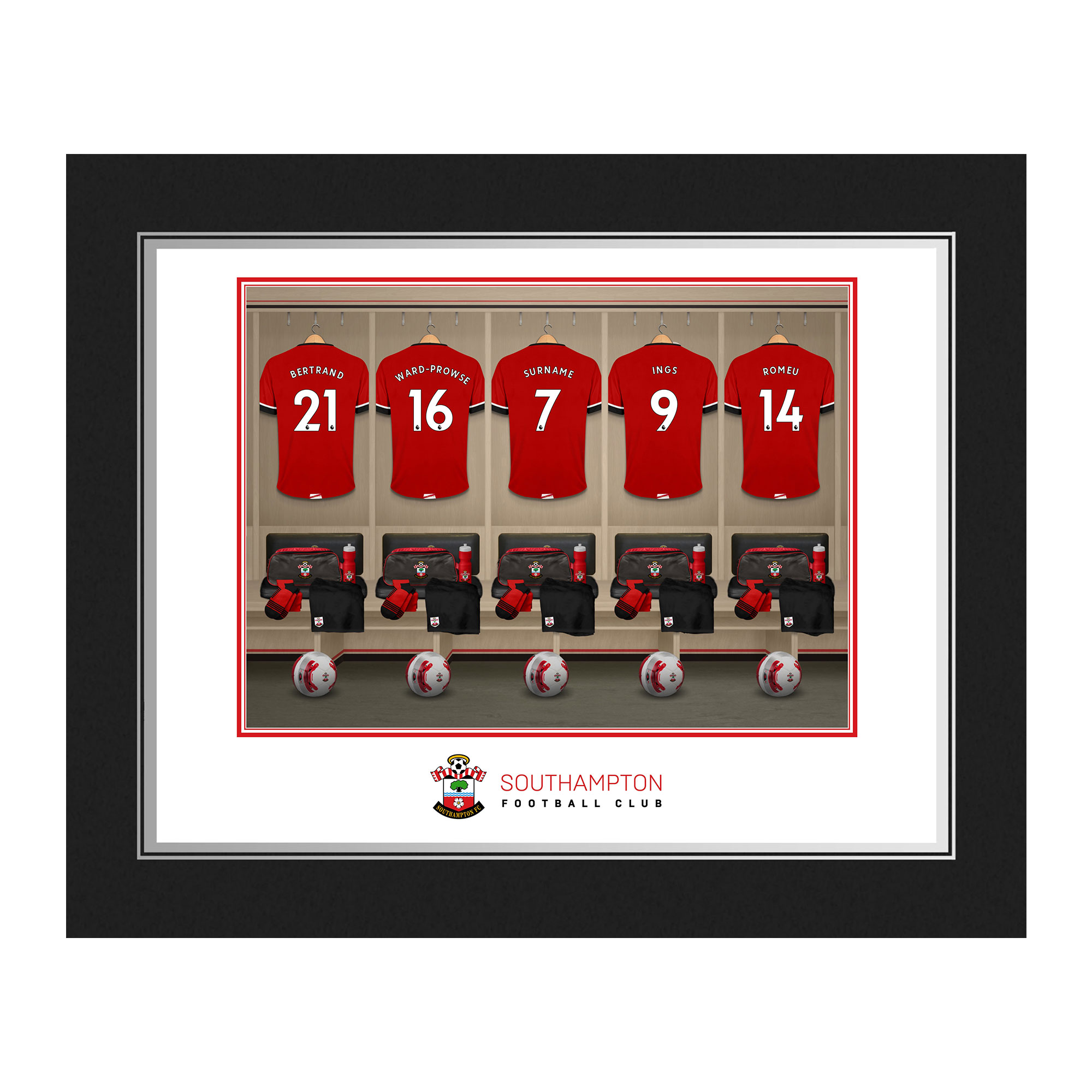 Southampton FC Dressing Room Photo Folder