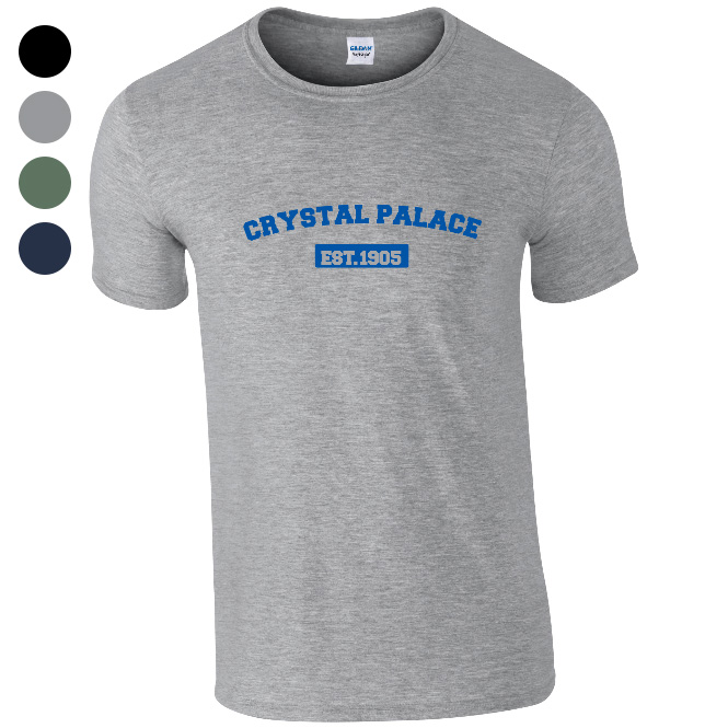 Crystal Palace FC Varsity Established T-Shirt