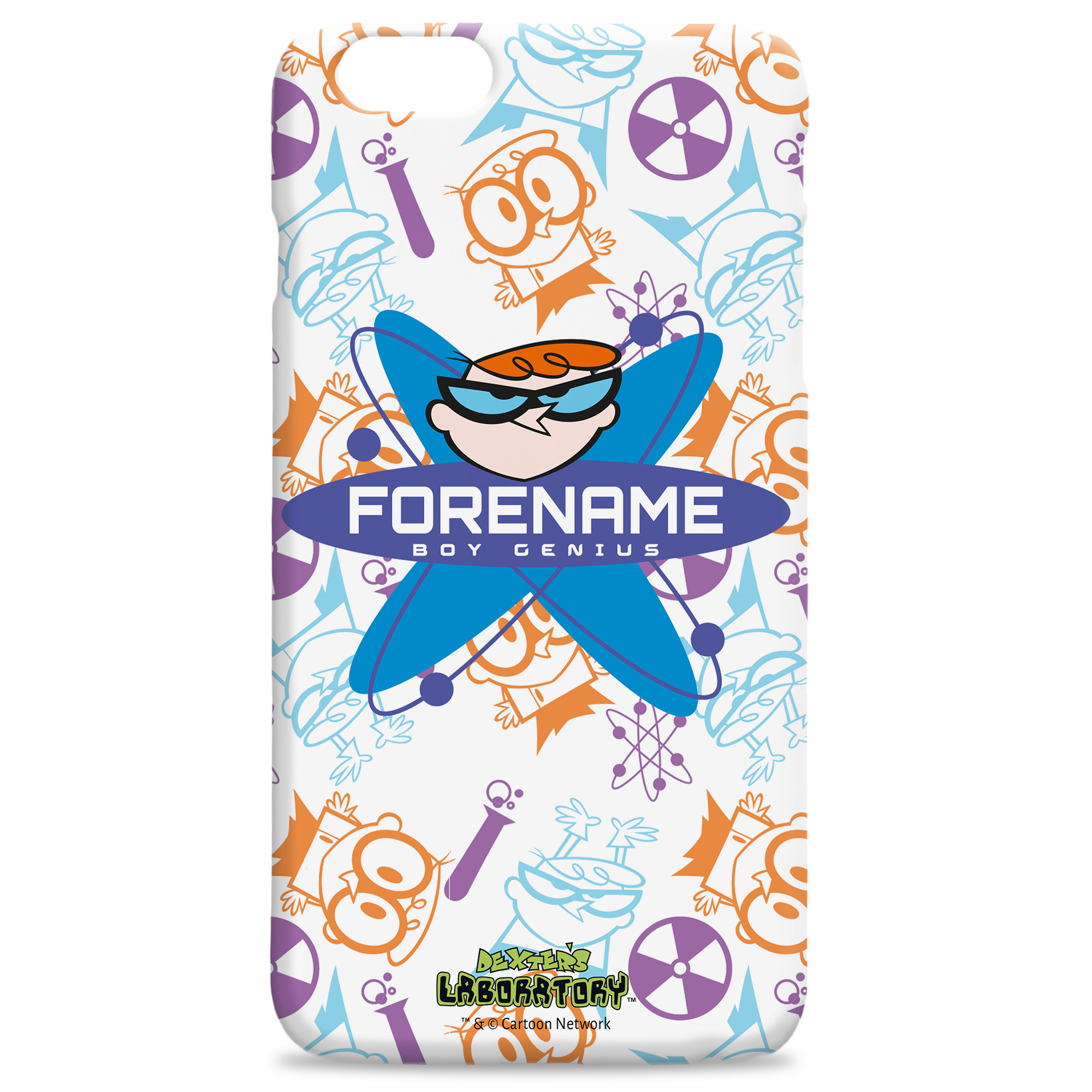 Dexter's Lab Boy Genius iPhone Case