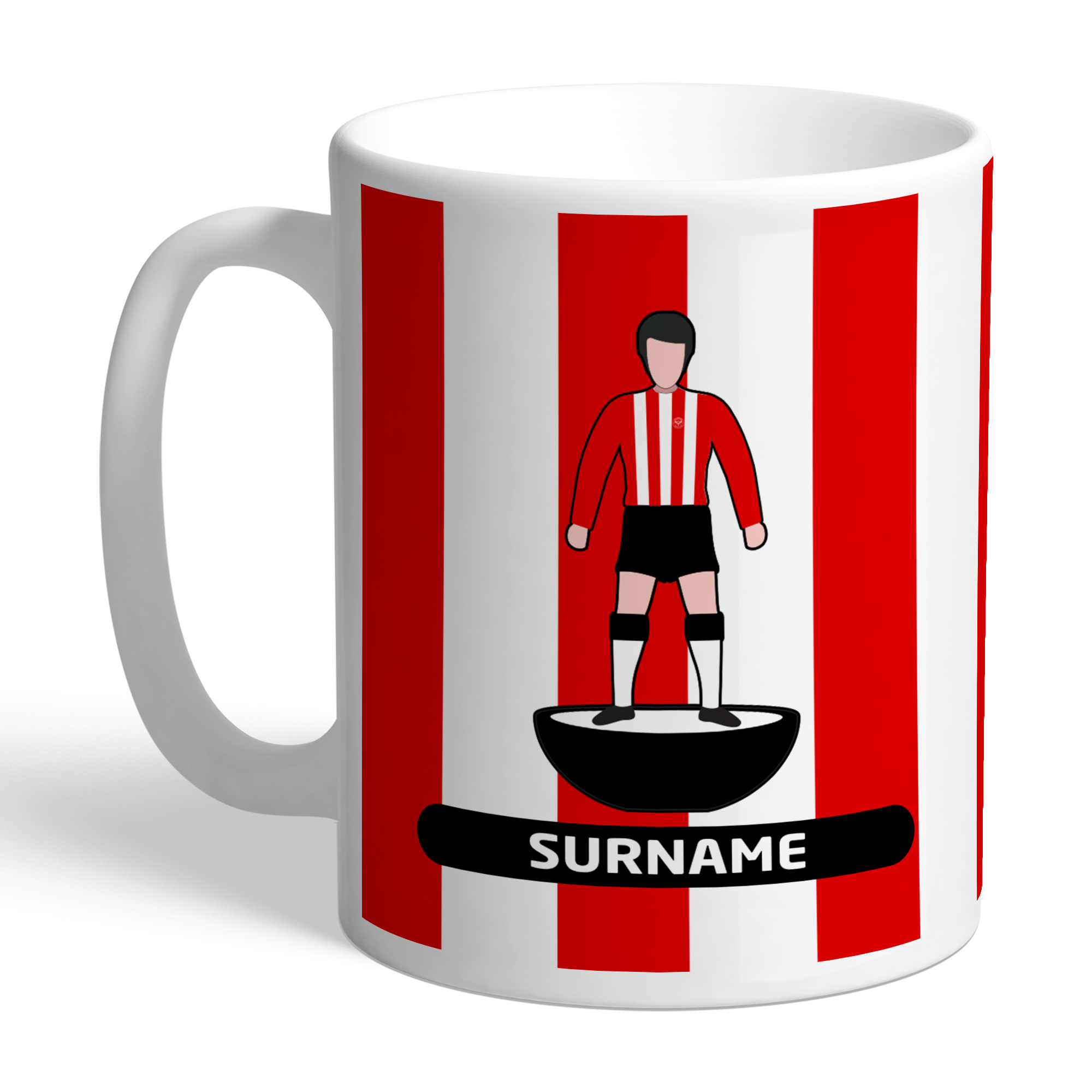 Brentford Player Figure Mug