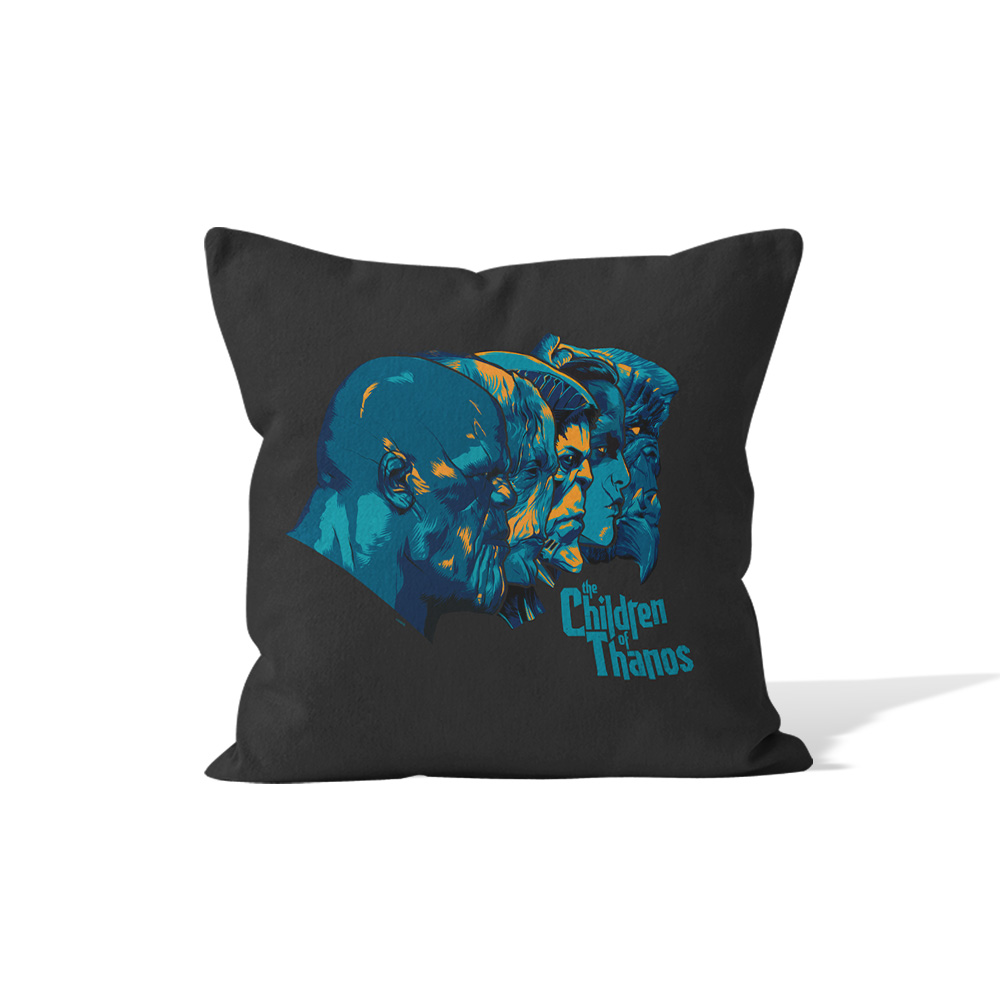 Marvel Infinity War Children Of Thanos Headshots Cushion