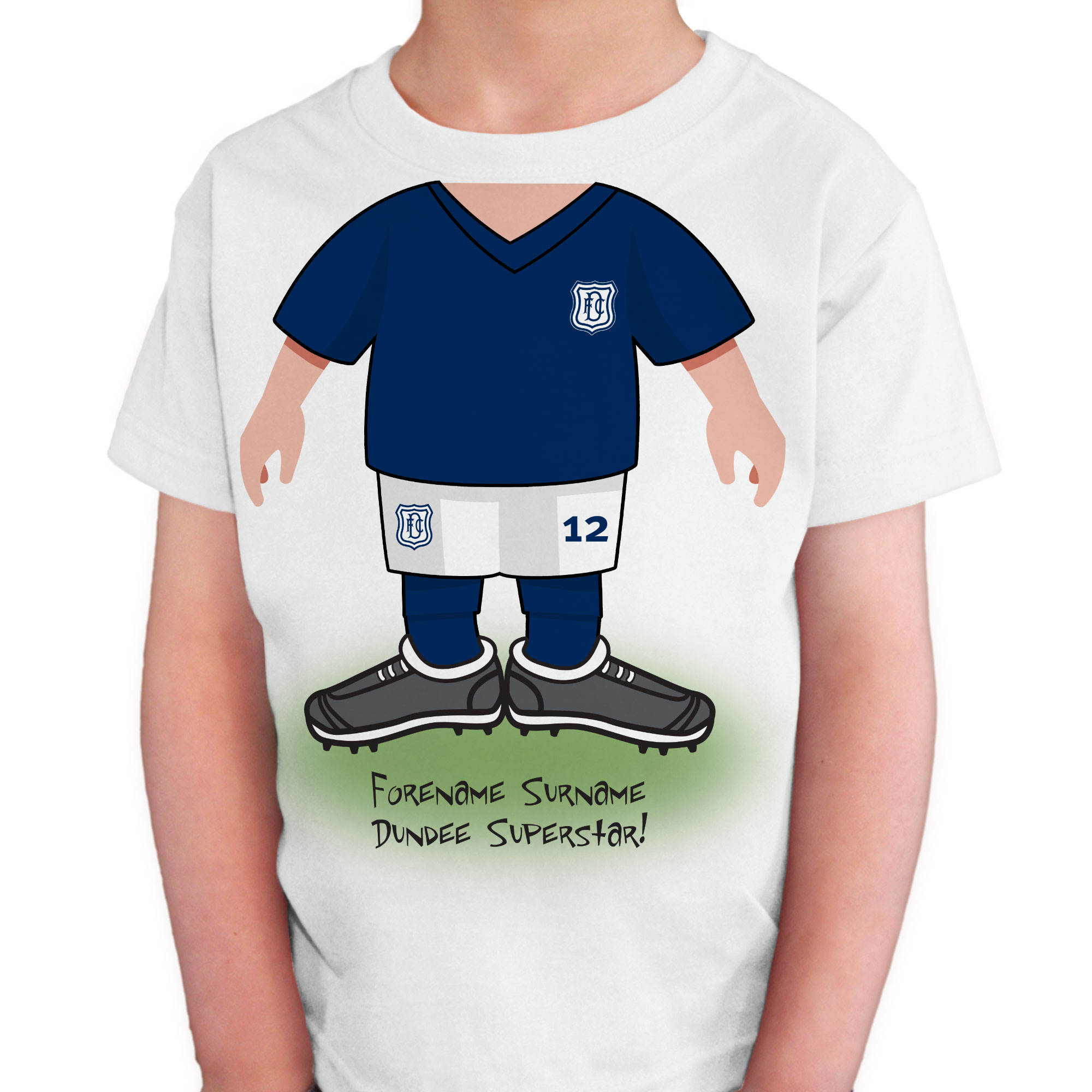 Dundee FC Kids Use Your Head T-Shirt