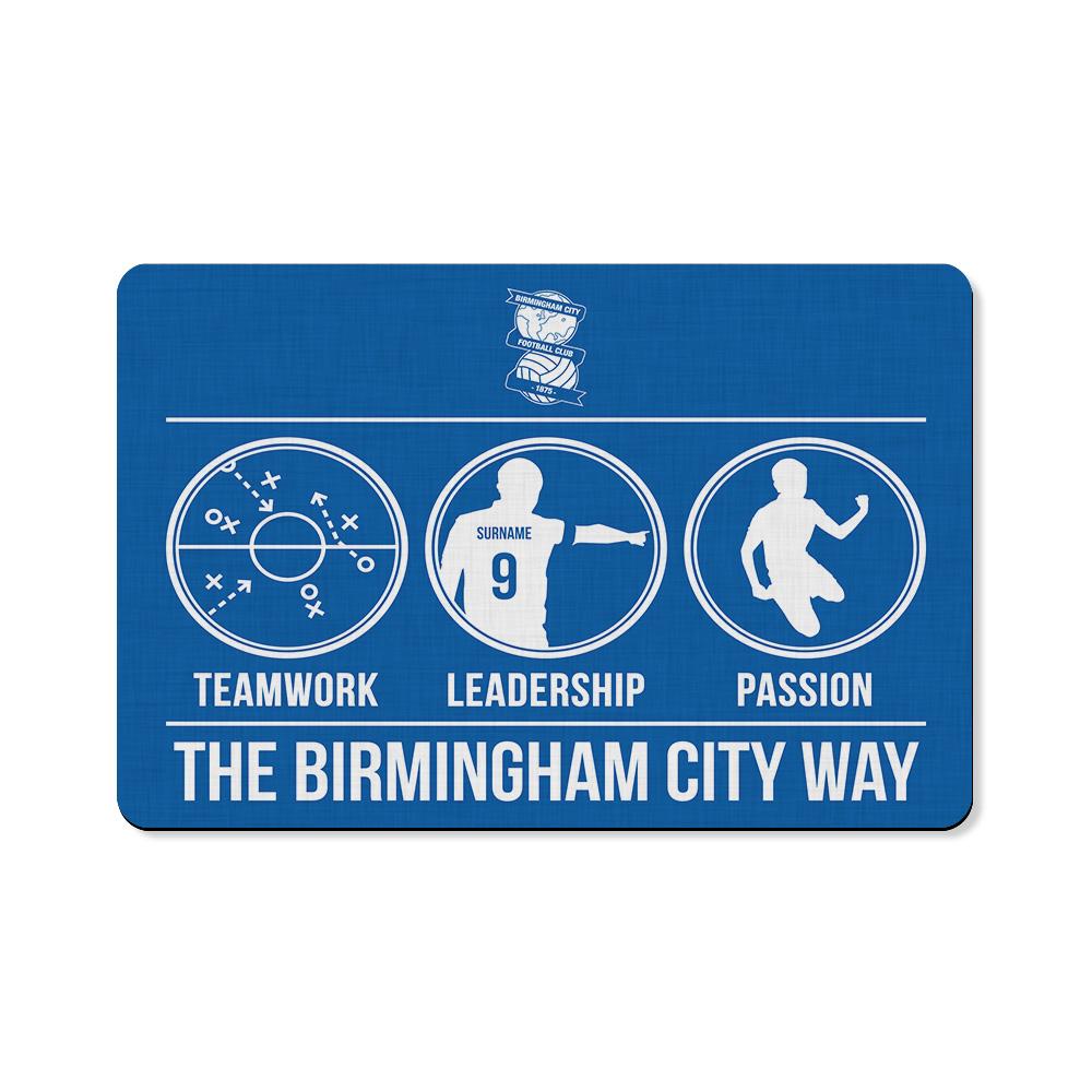 Birmingham City FC Way Floor Mat