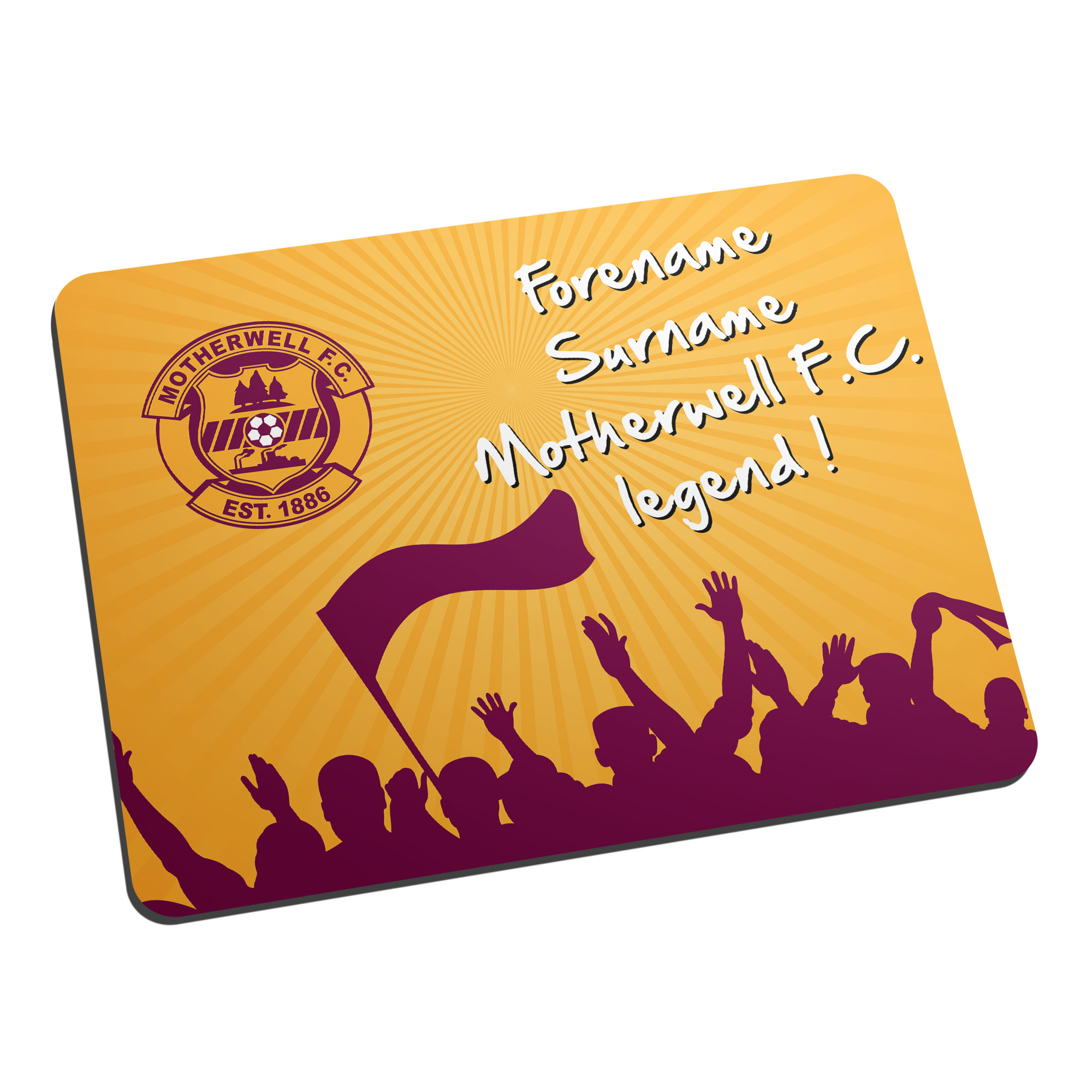 Motherwell FC Legend Mouse Mat