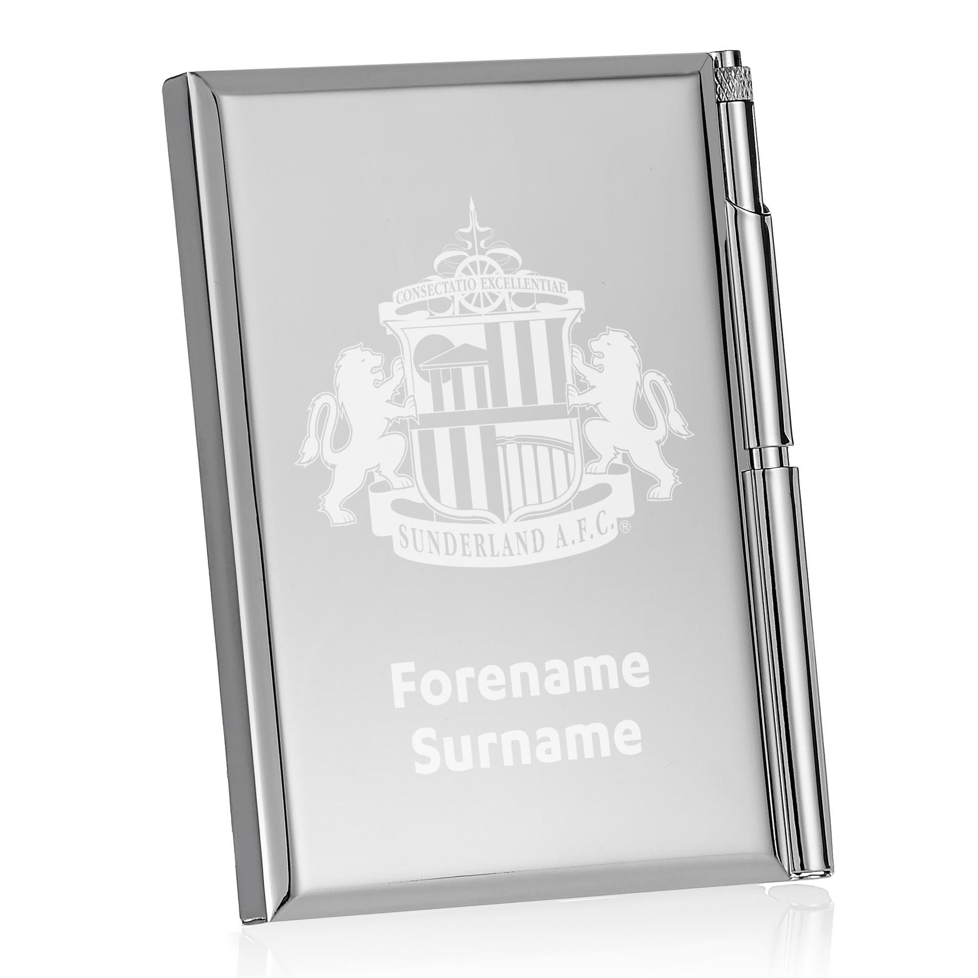 Sunderland AFC Crest Address Book