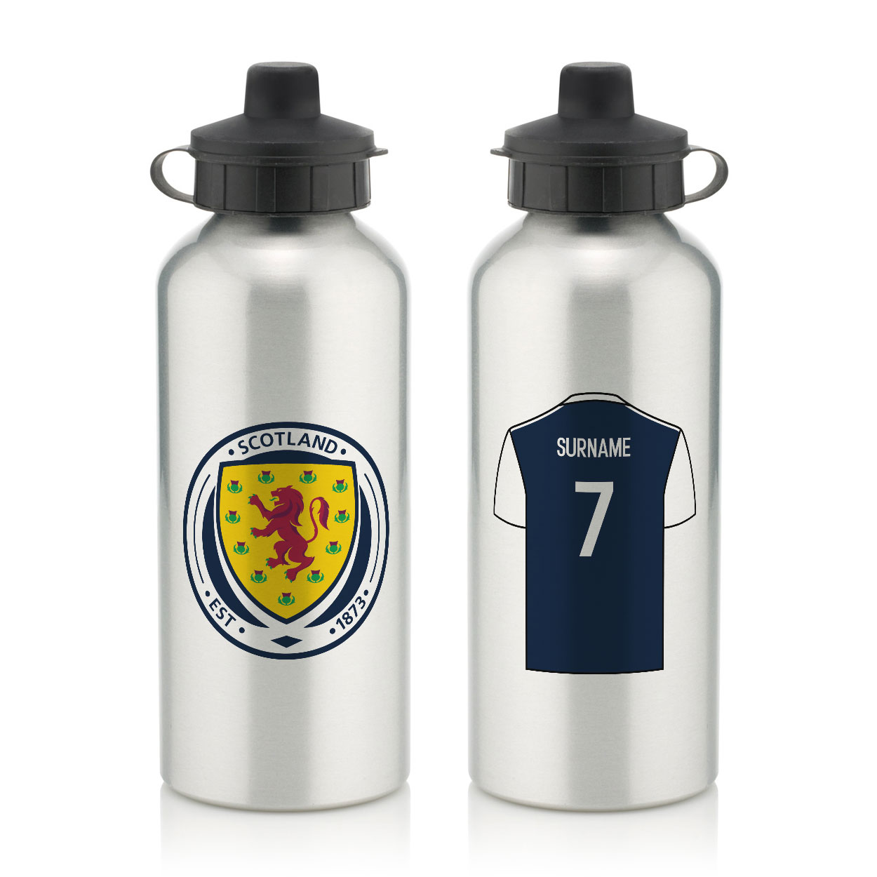 Scotland Aluminium Water Bottle