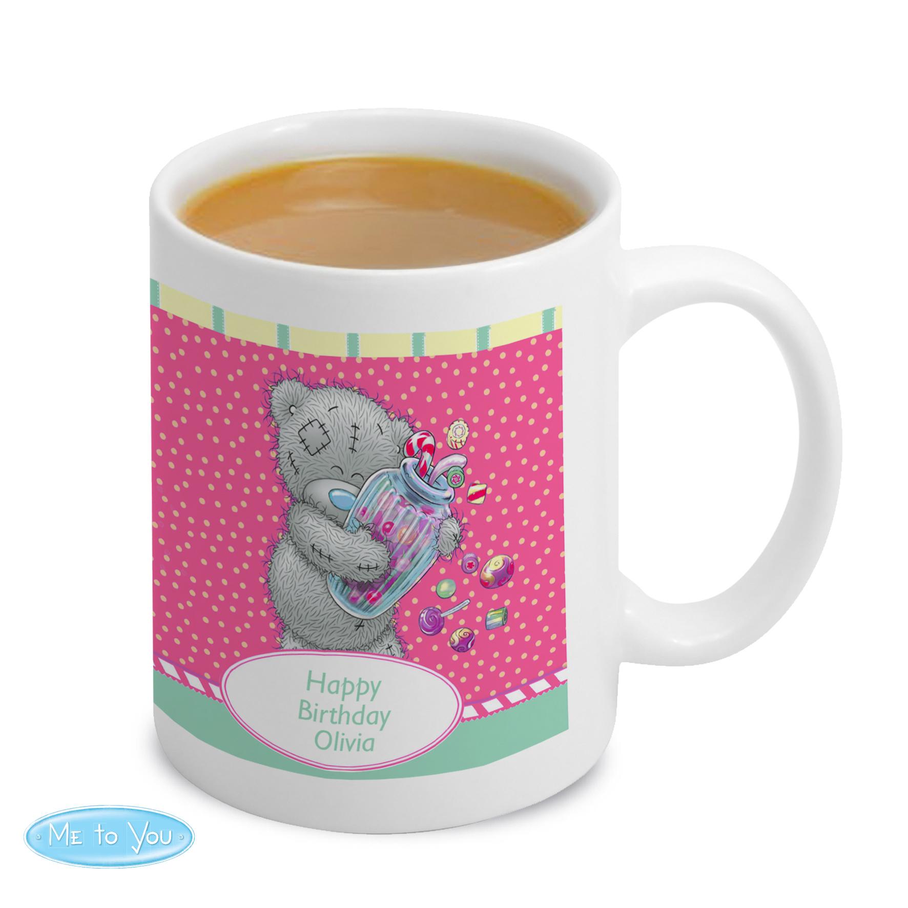 Personalised Me to You Candy Girl Mug