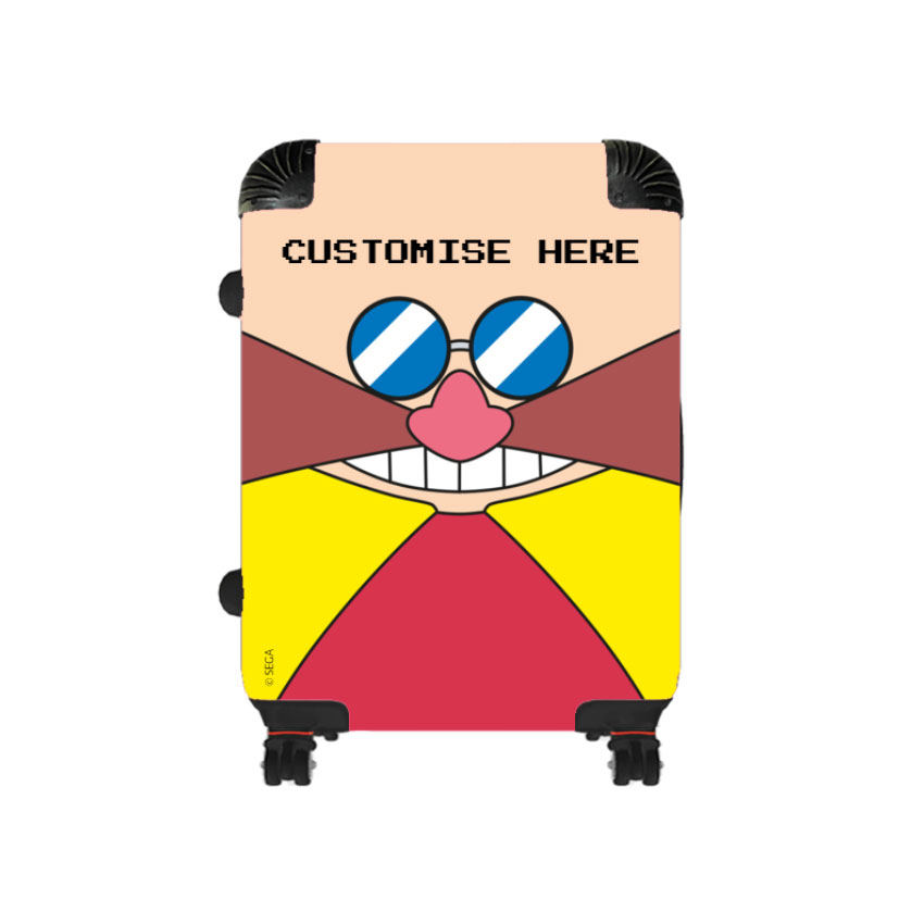 Cabin Suitcase - Eggman Face - Classic Sonic
