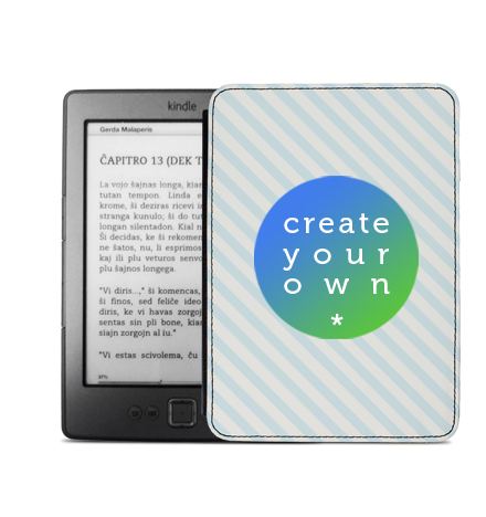 Faux Leather Kindle Flip Case