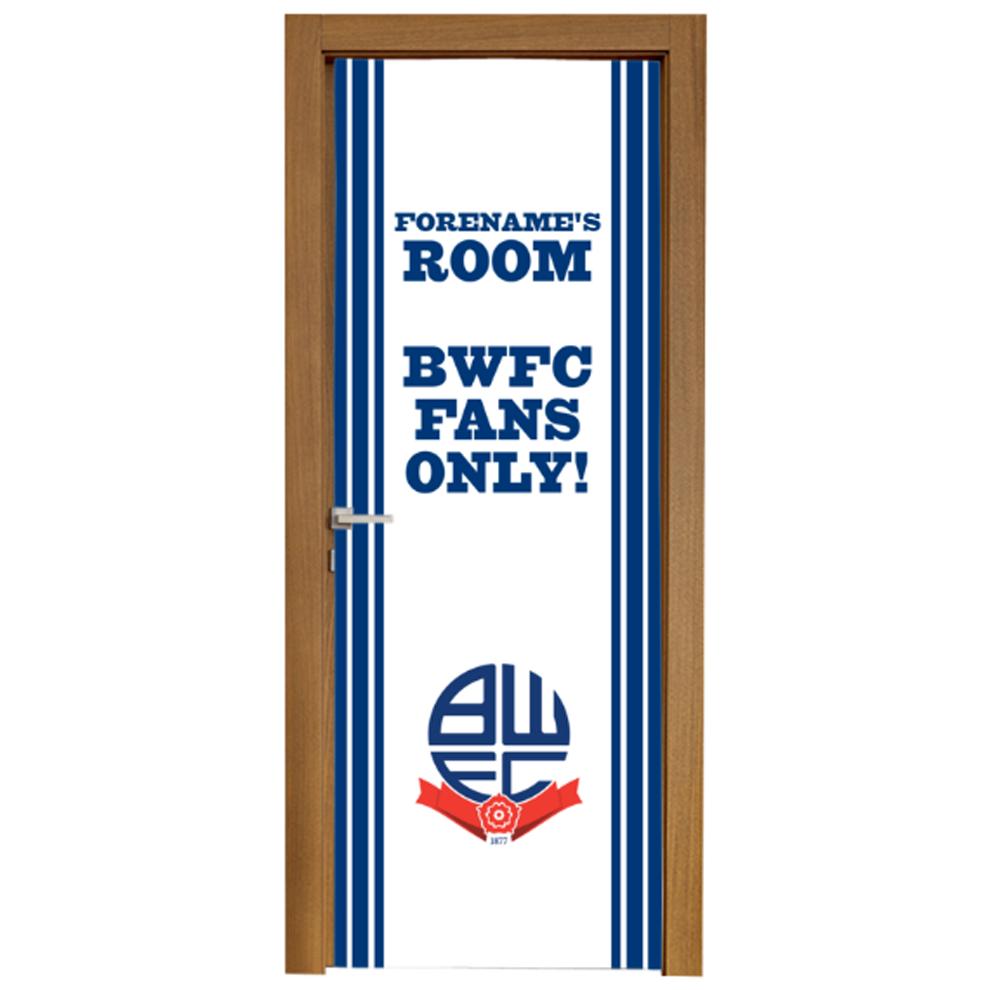 Bolton Wanderers FC Stripe Door Banner