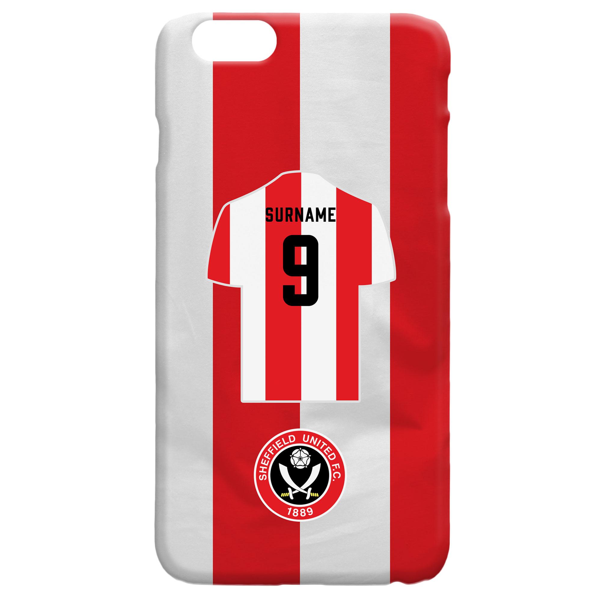 Sheffield United FC Shirt Hard Back Phone Case