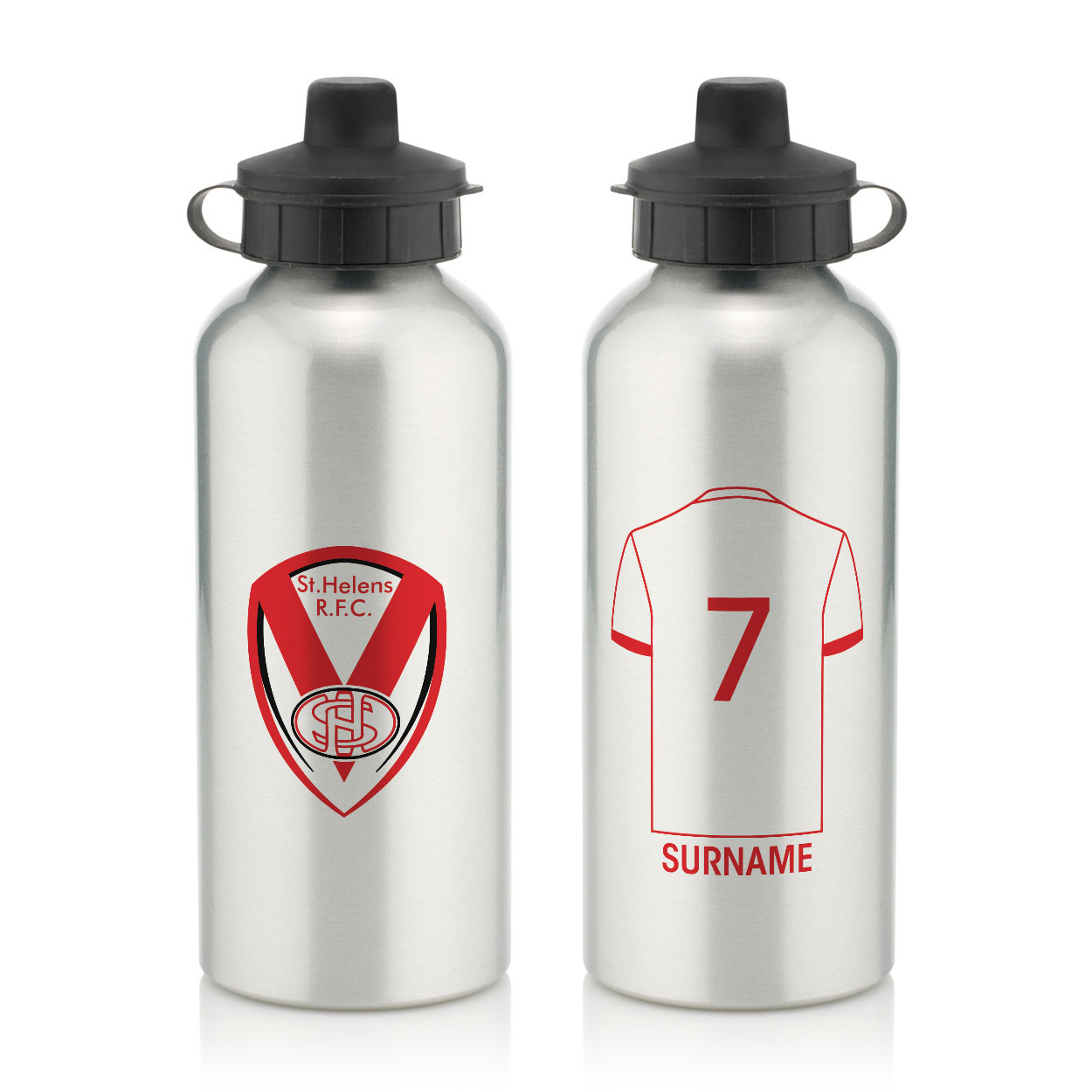 St Helens Aluminium Water Bottle