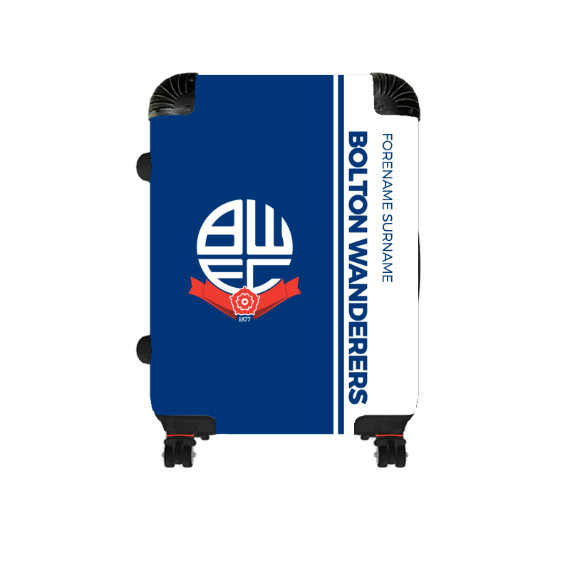 Bolton Wanderers FC Crest Cabin Suitcase