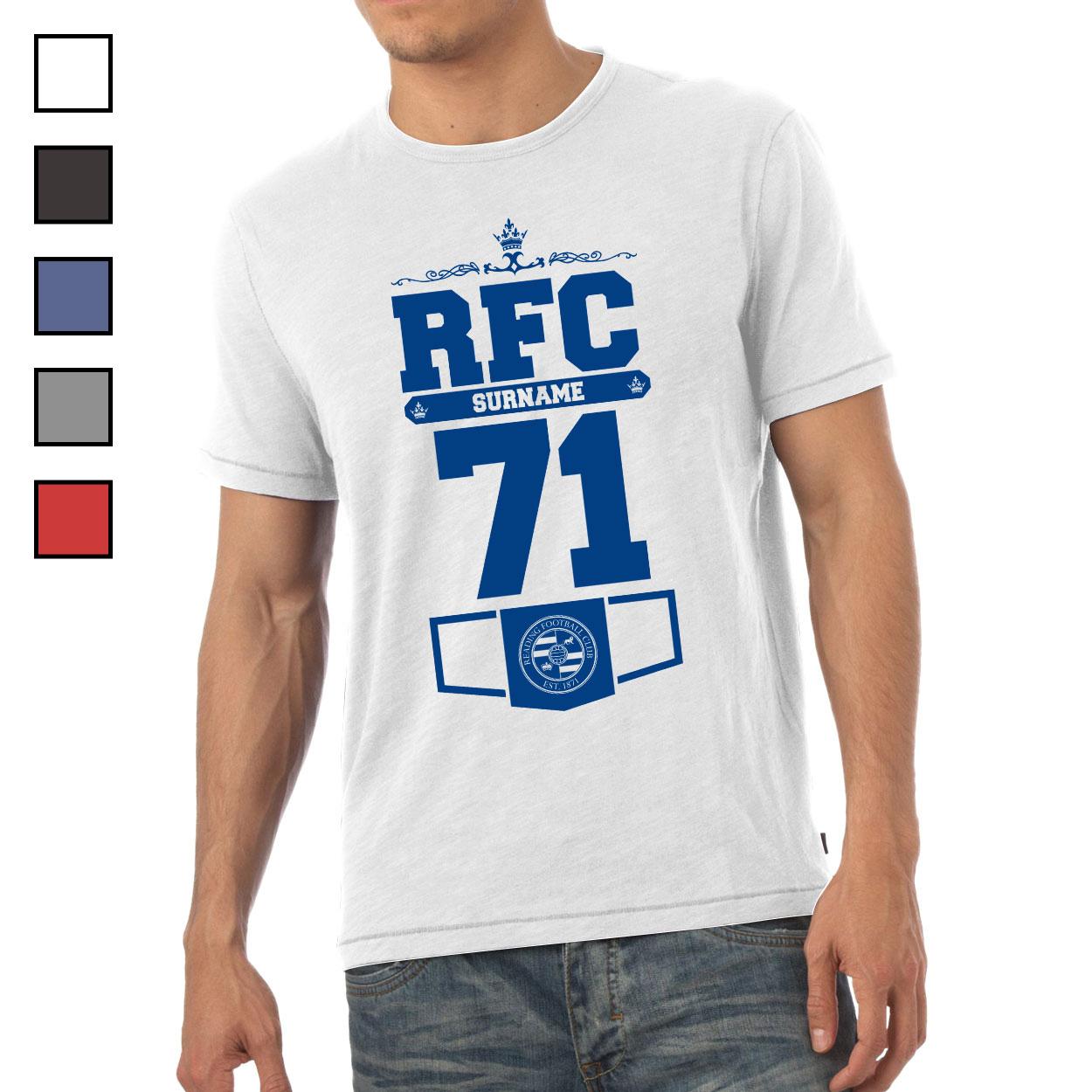 Reading FC Mens Club T-Shirt