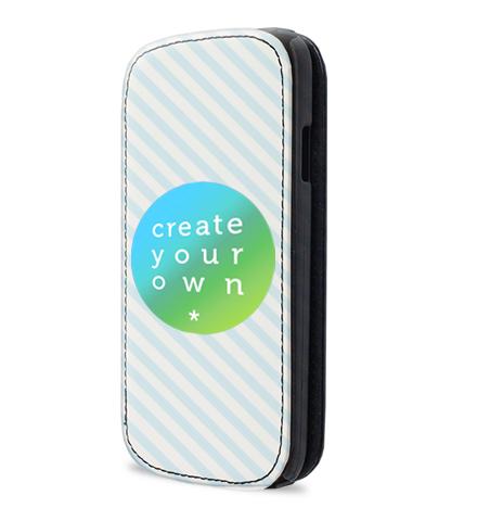 Faux Leather Samsung Galaxy S4 Flip Case