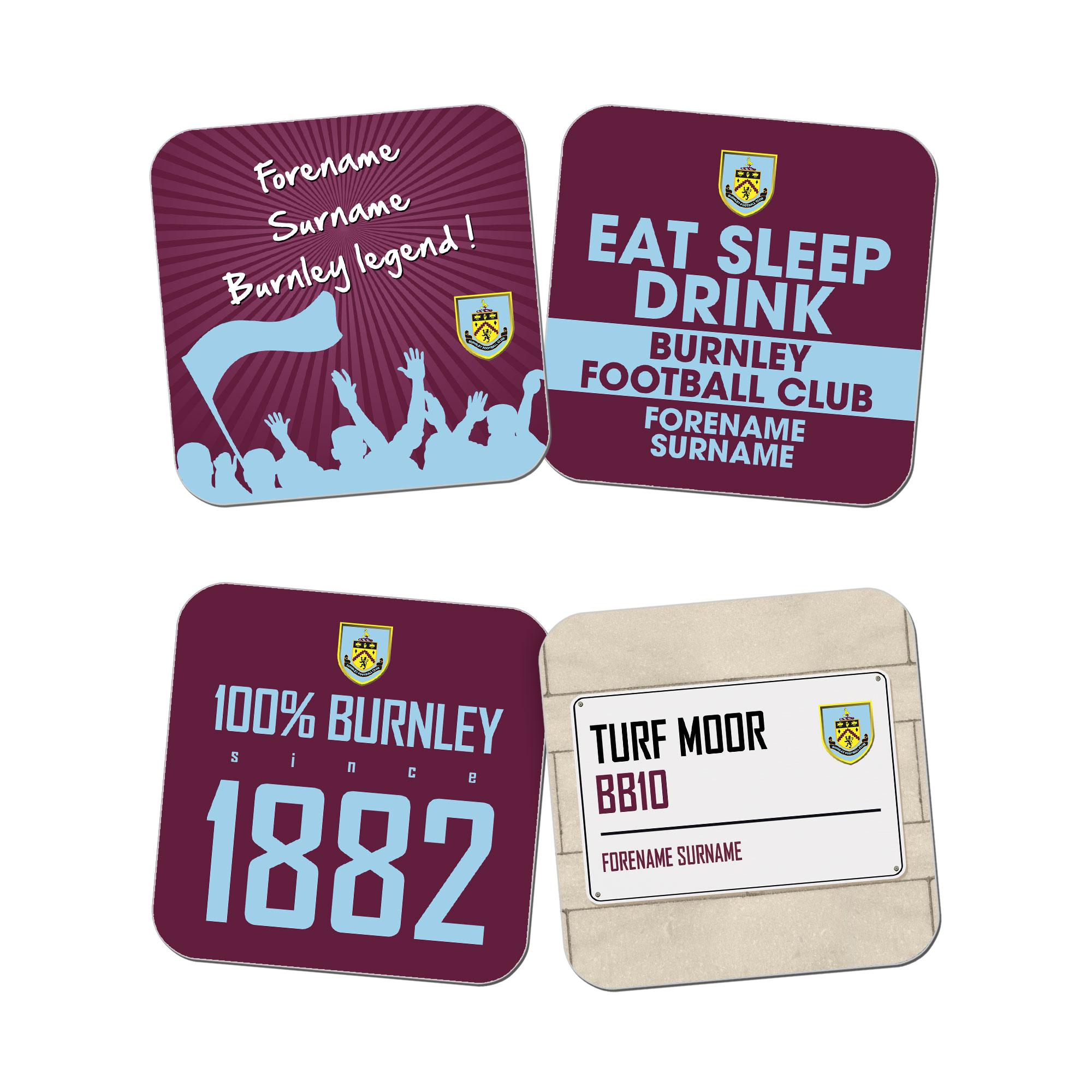 Burnley FC Coasters