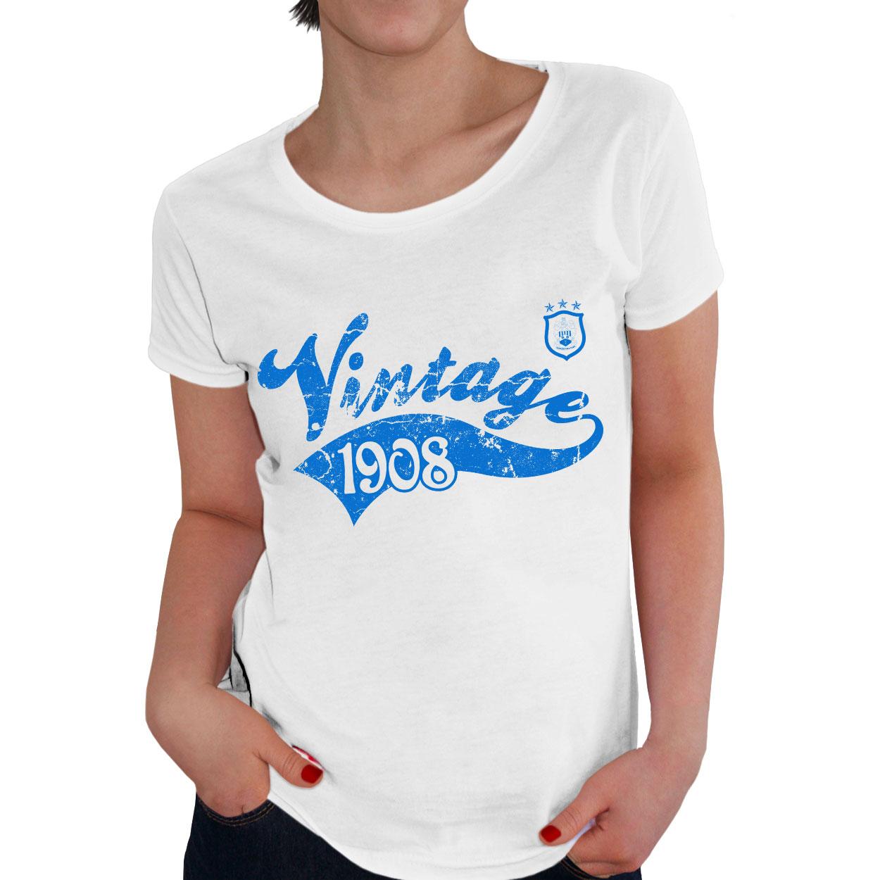 Huddersfield Town Ladies Vintage T-Shirt