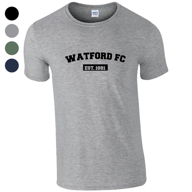Watford FC Varsity Established T-Shirt