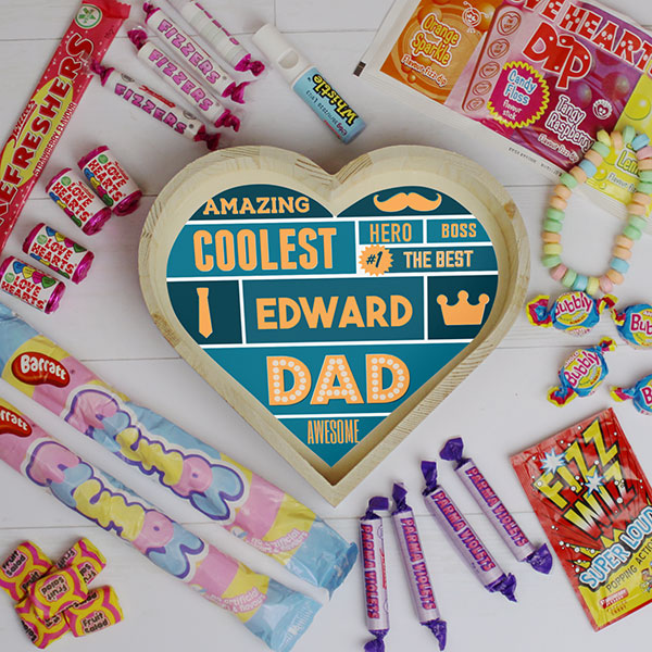 Best Dad - Large Sweet Heart