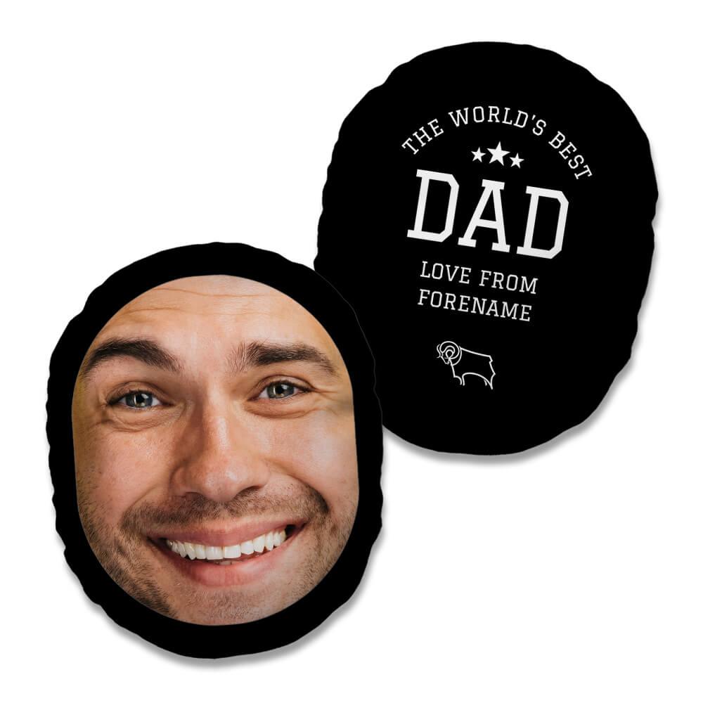 Derby County FC World's Best Dad Mush Cush
