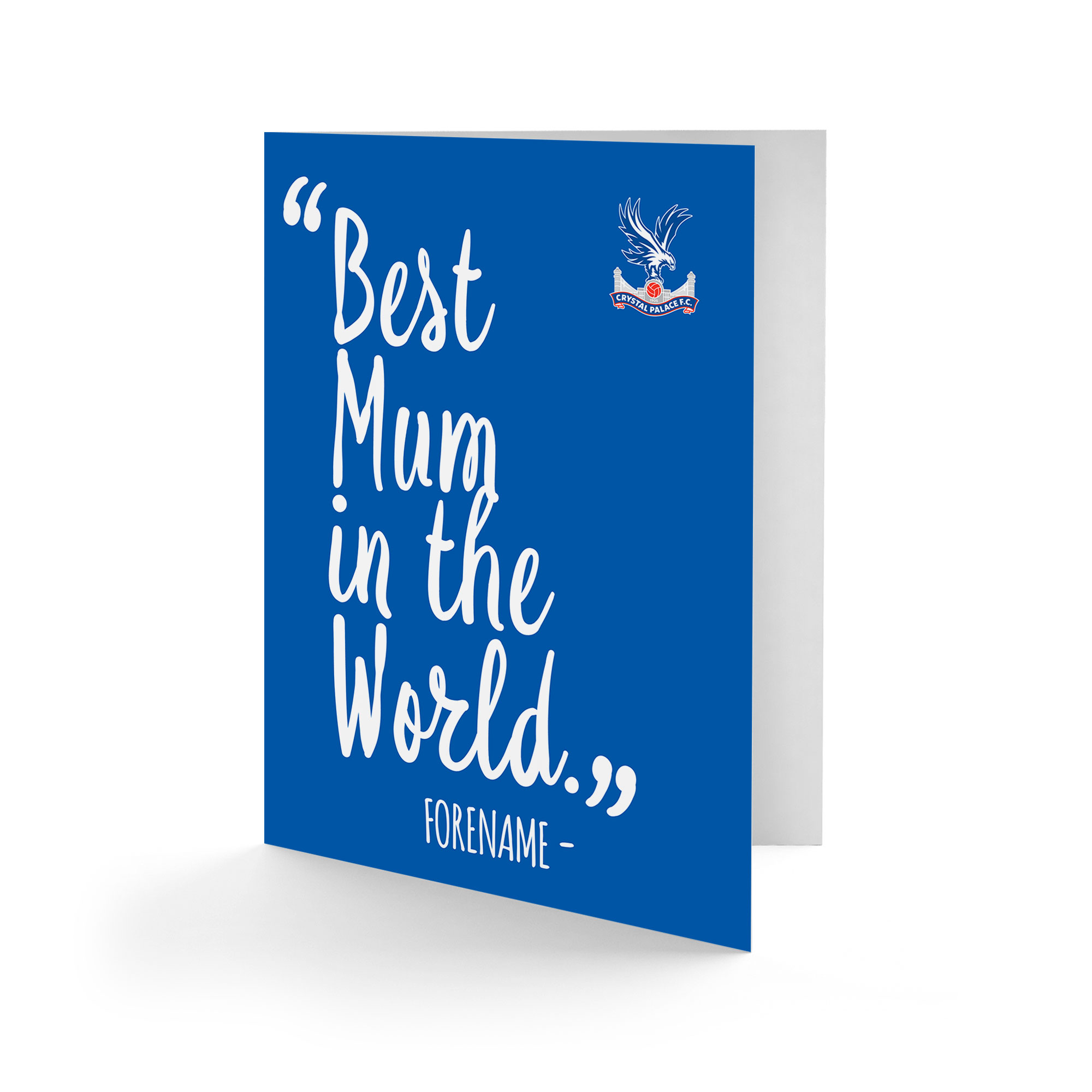 Crystal Palace FC Best Mum In The World Card