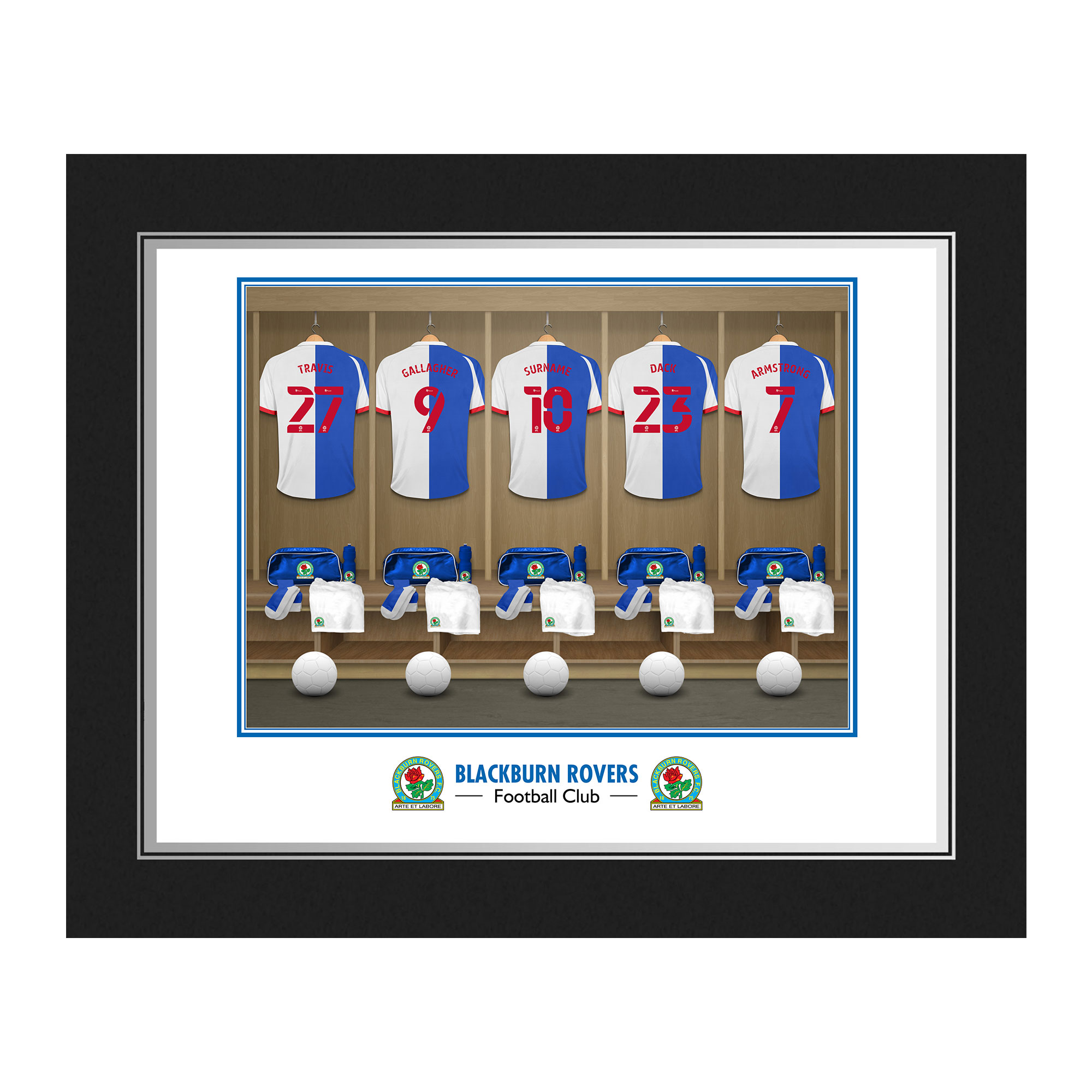 Blackburn Rovers FC Dressing Room Photo Folder