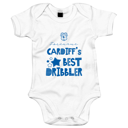 Cardiff City Best Dribbler Baby Bodysuit