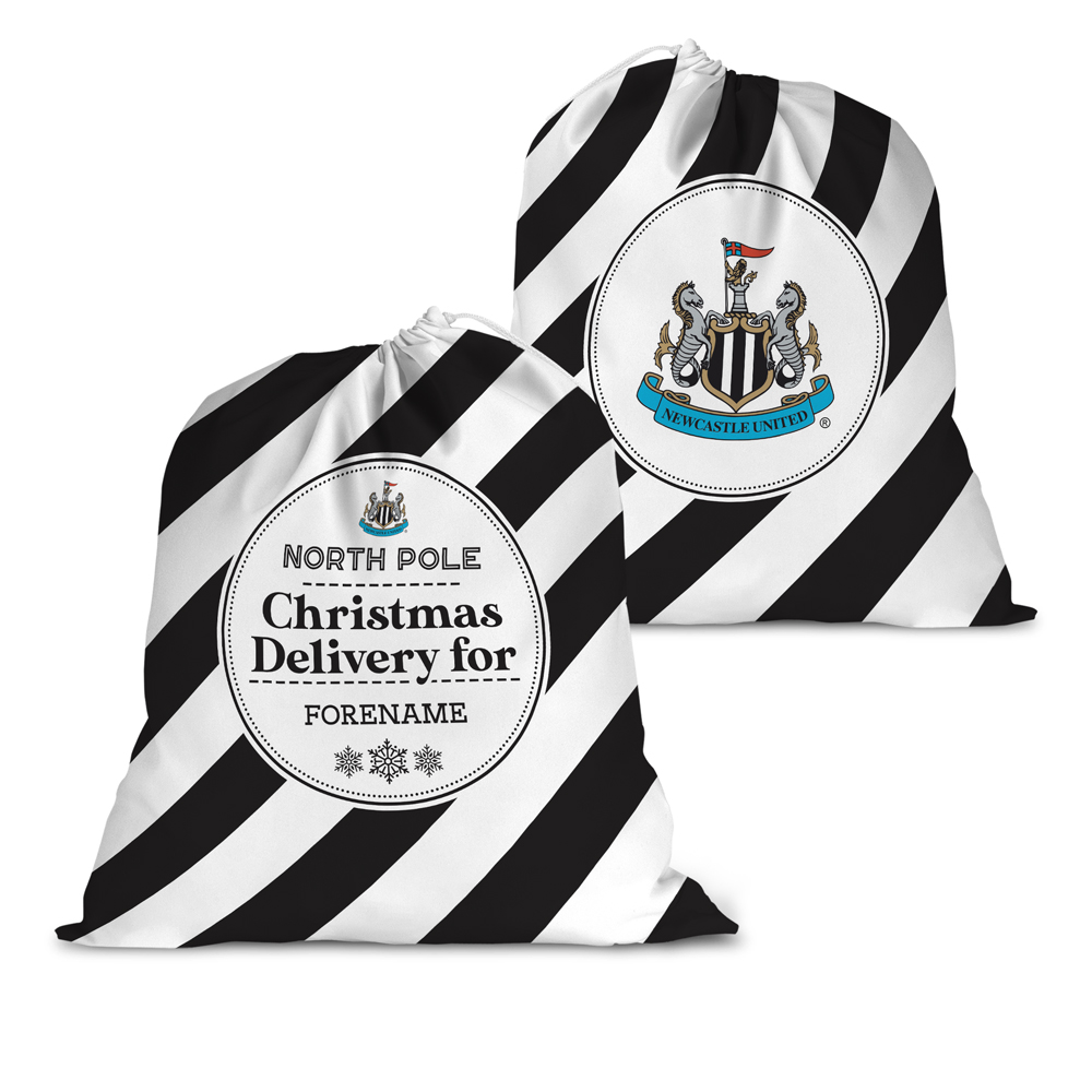 Newcastle United FC Christmas Delivery Santa Sack