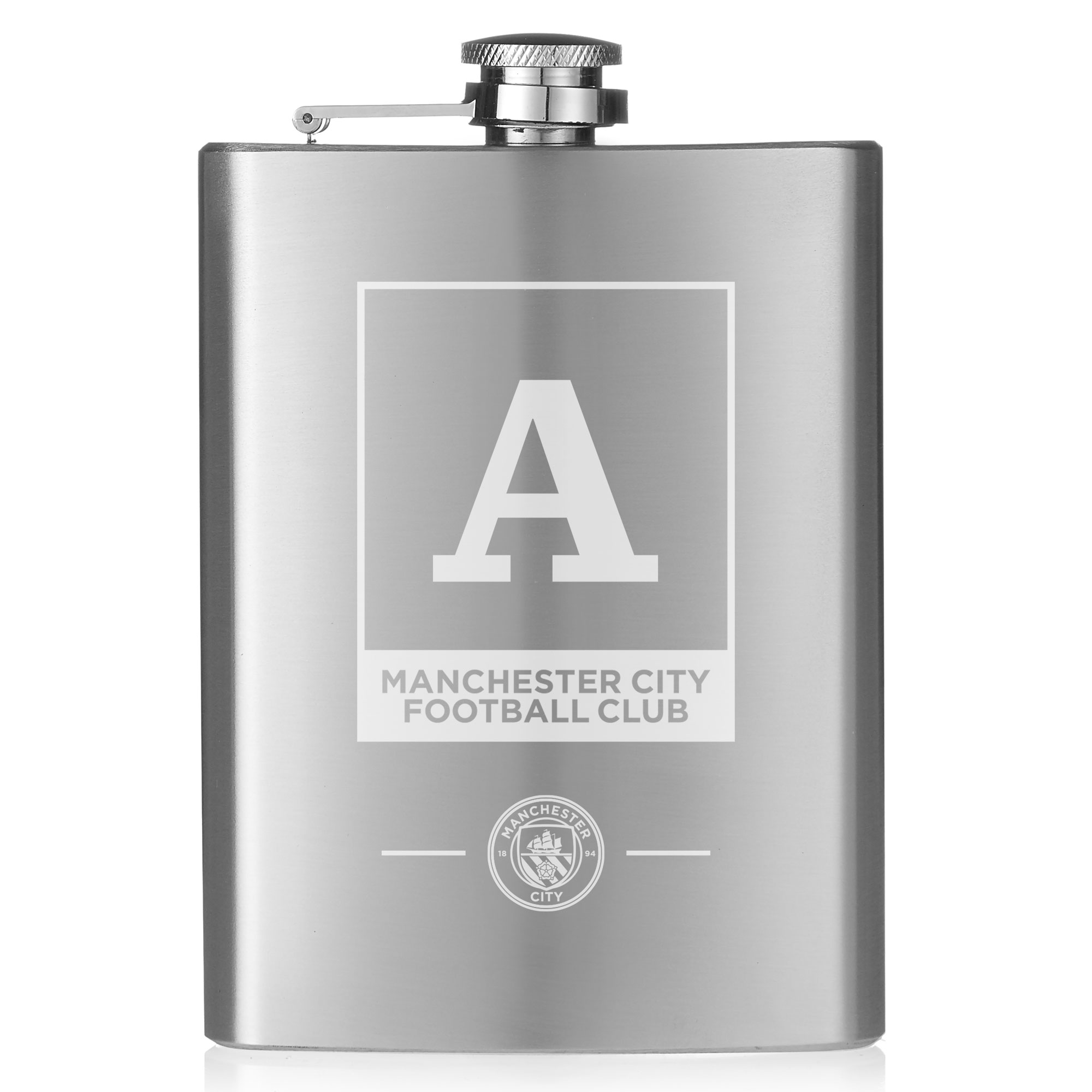 Manchester City FC Monogram Hip Flask