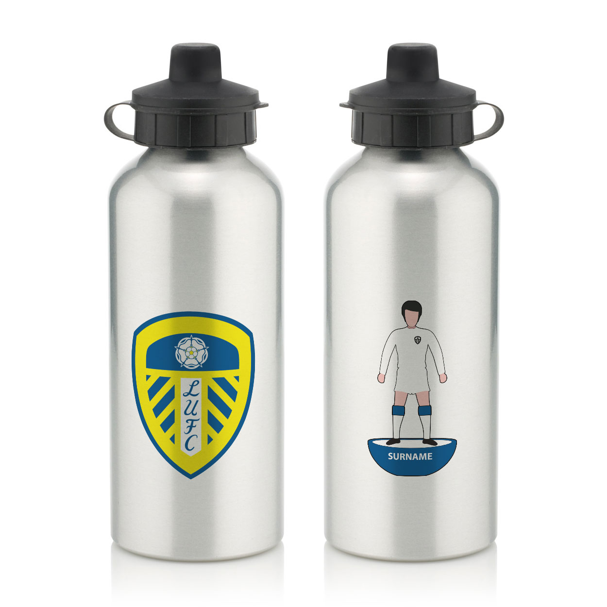 Leeds United FC Player Figure Water Bottle