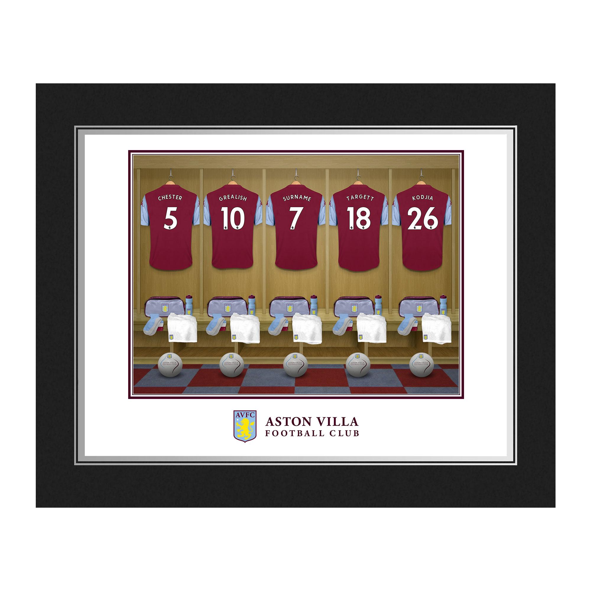 Aston Villa FC Dressing Room Photo Folder