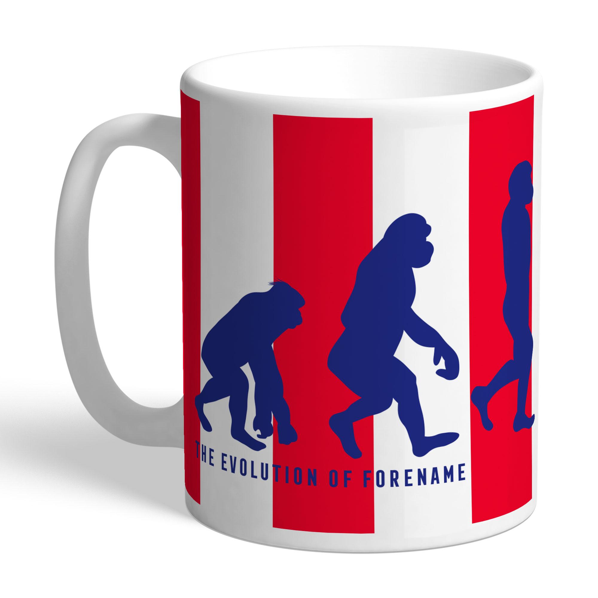 Stoke City FC Evolution Mug