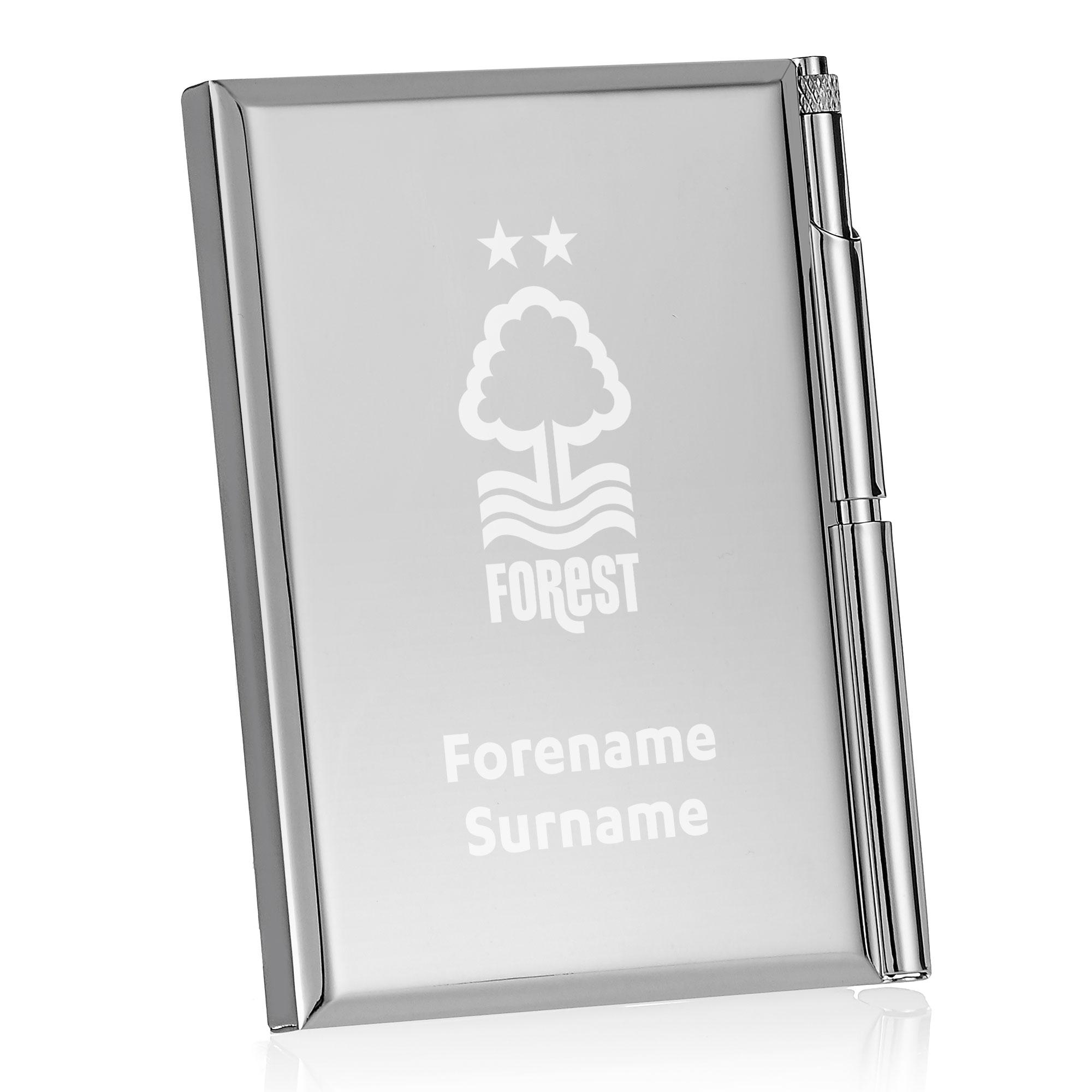 Nottingham Forest FC Crest Address Book