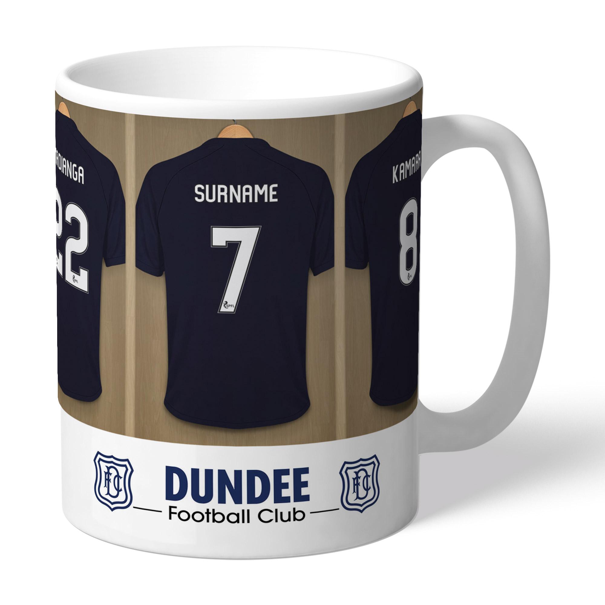 Dundee FC Dressing Room Mug