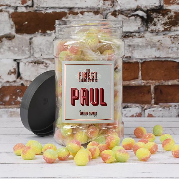 Rosey Apples Sweet Jar