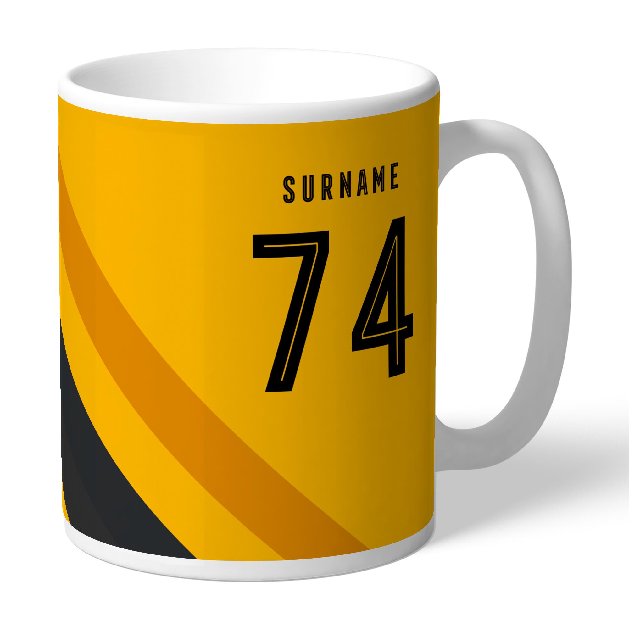 Wolverhampton Wanderers FC Stripe Mug