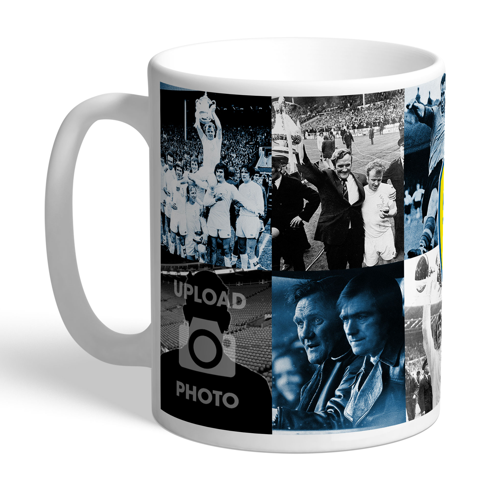 Leeds United FC Legends Photo Mug