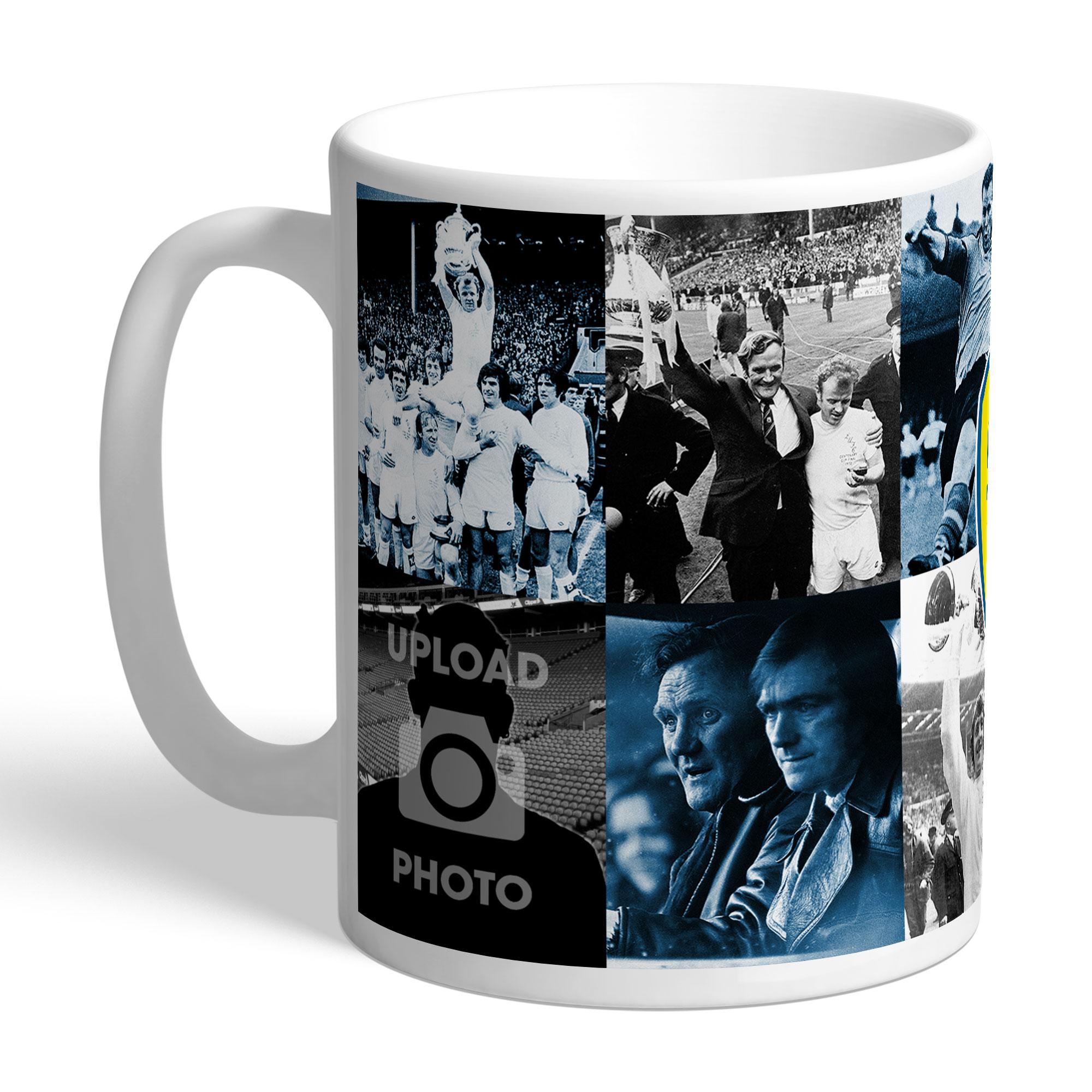 Leeds United FC Legends Photo Mug
