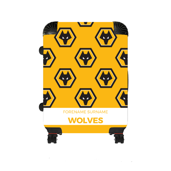 Wolverhampton Wanderers FC Mini Crest Medium Suitcase