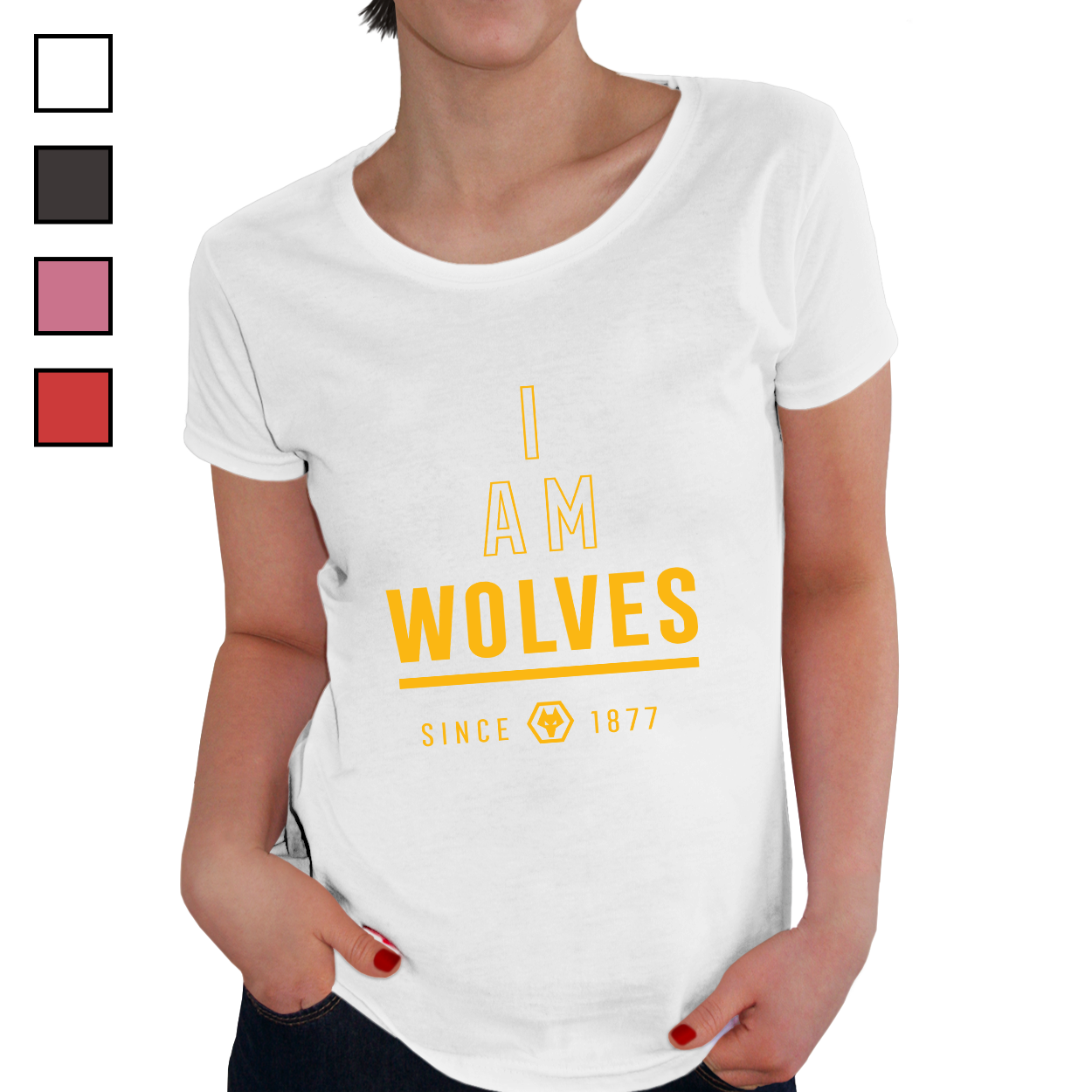 Wolverhampton Wanderers FC I Am Ladies T-Shirt