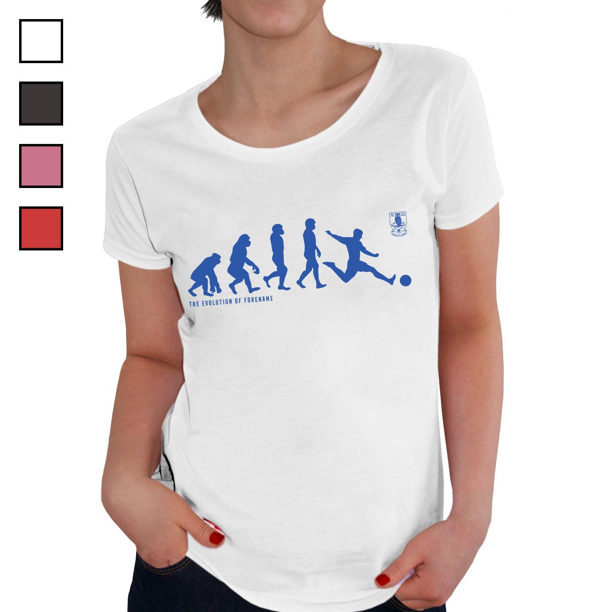 Sheffield Wednesday Evolution Ladies T-Shirt
