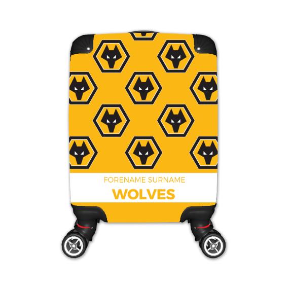 Wolverhampton Wanderers FC Mini Crest Kid's Suitcase