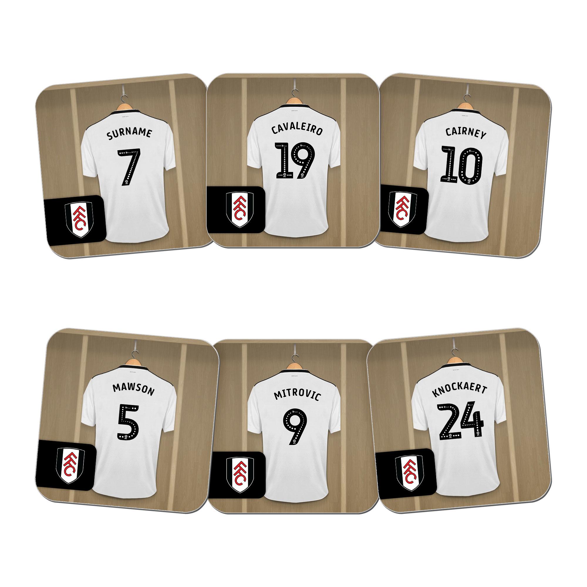 Fulham FC Dressing Room Coasters