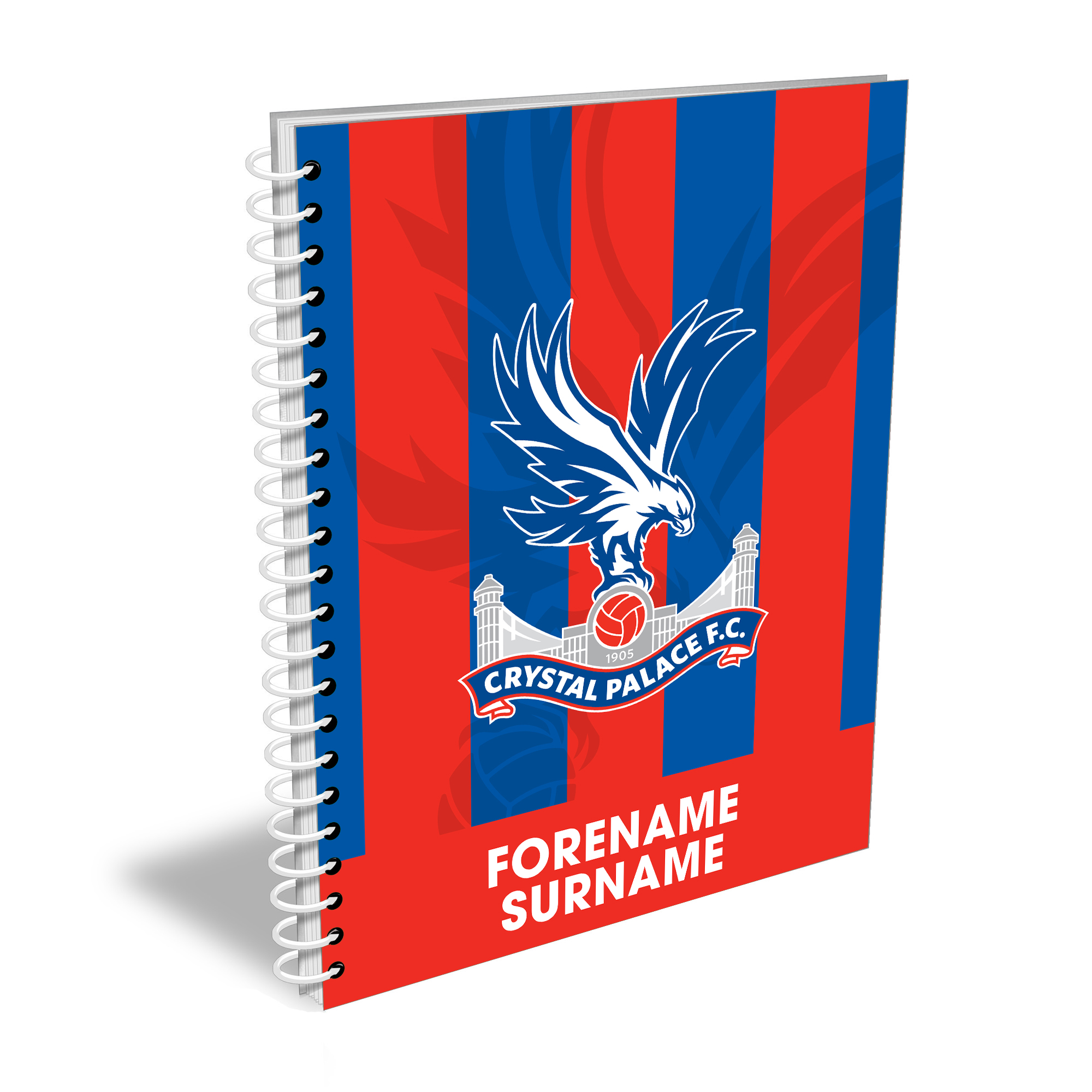 Crystal Palace FC Bold Crest Notebook