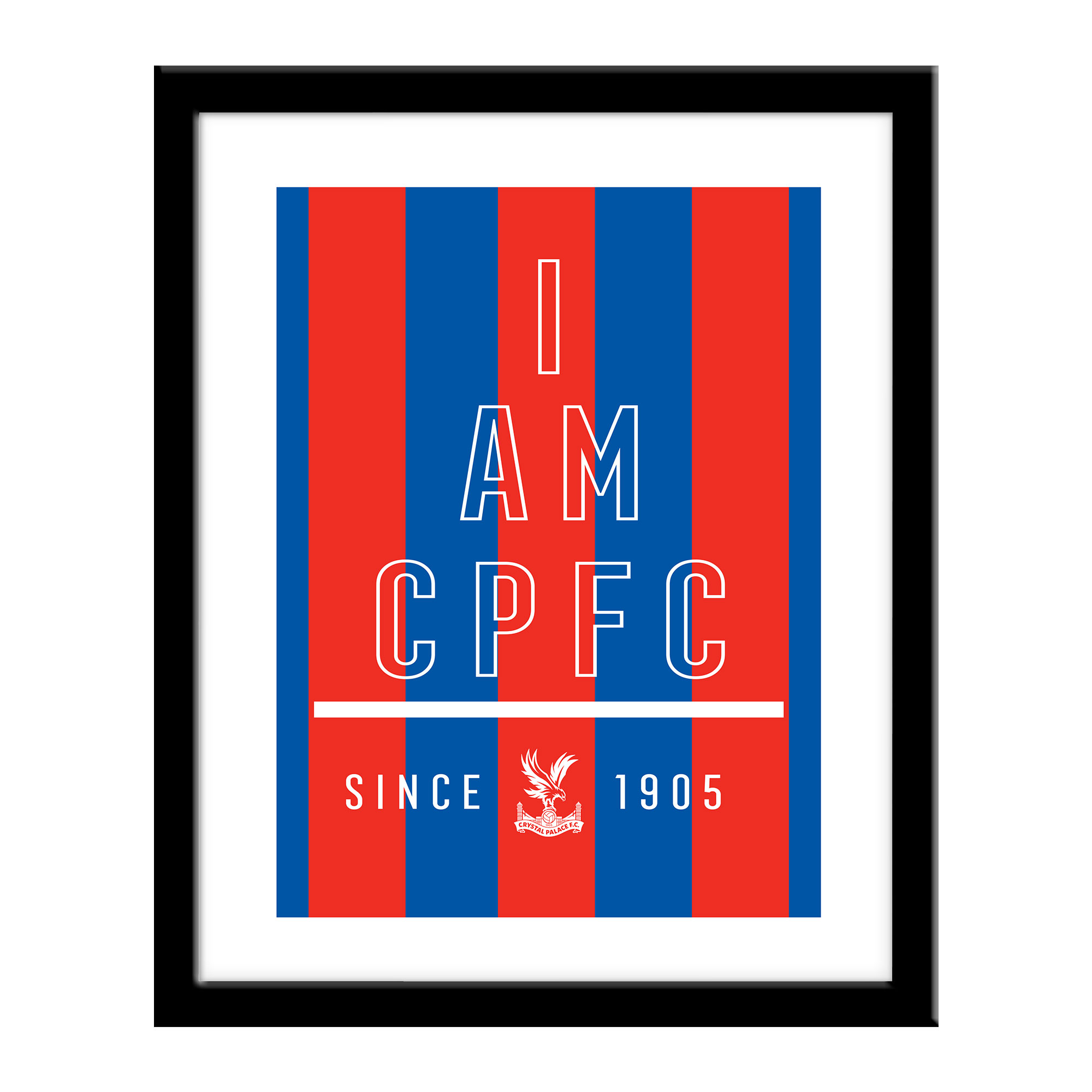 Crystal Palace FC I Am Print