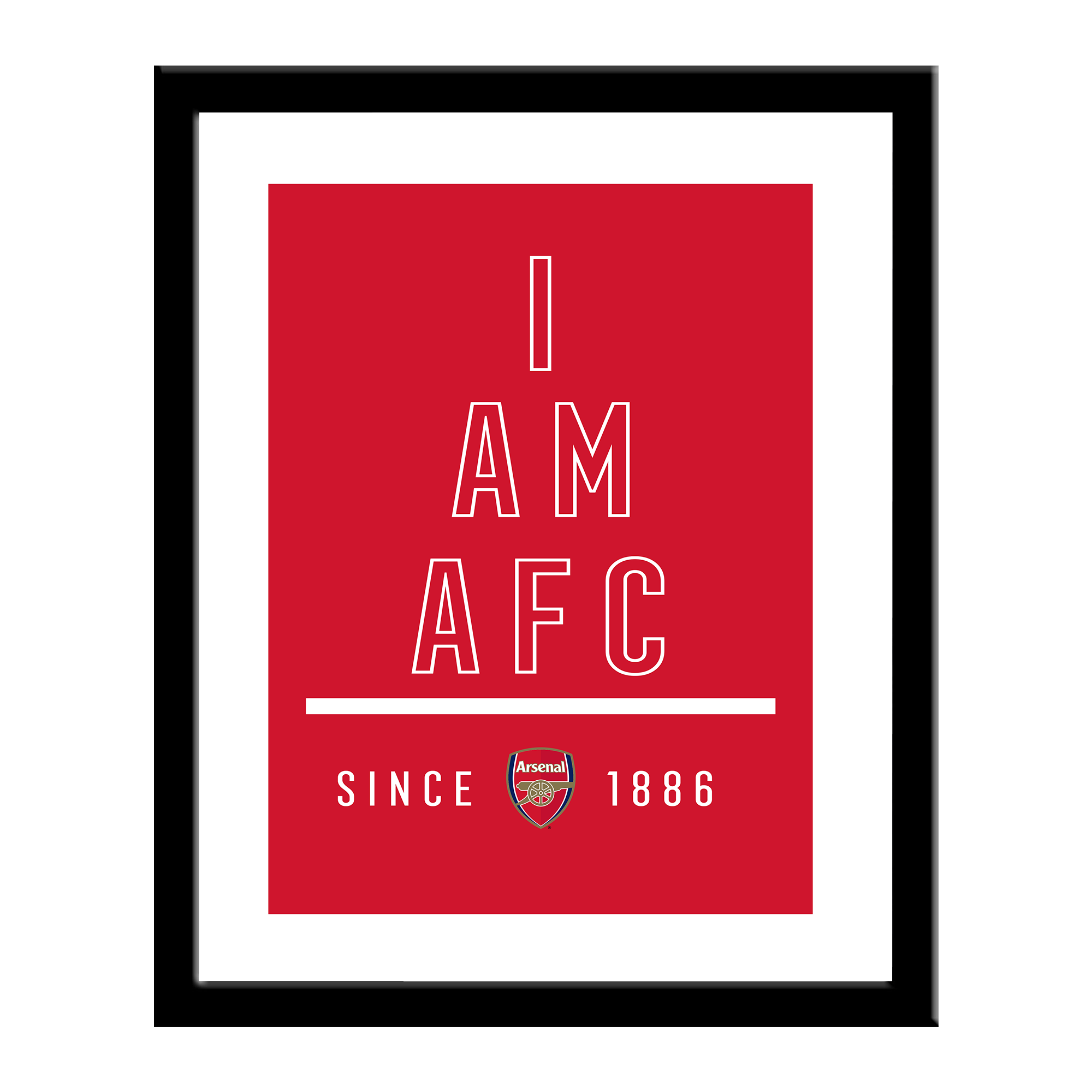 Arsenal FC I Am Print