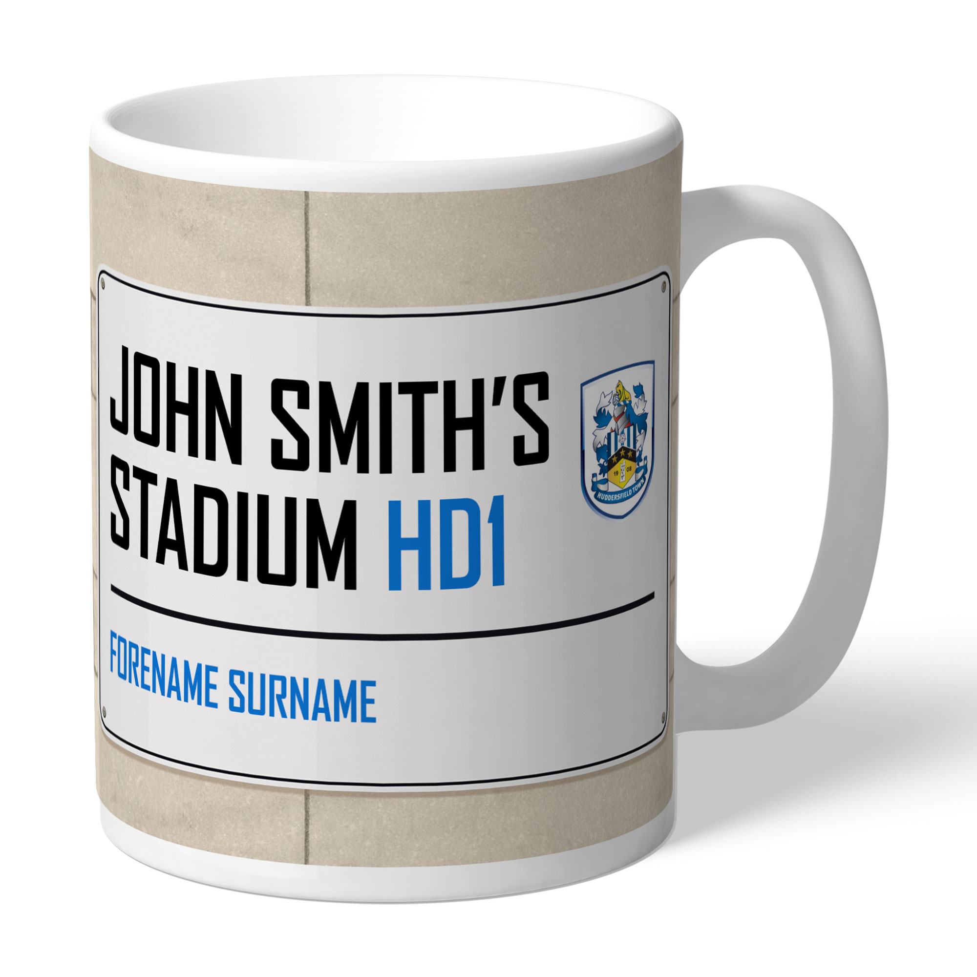Huddersfield Town Street Sign Mug