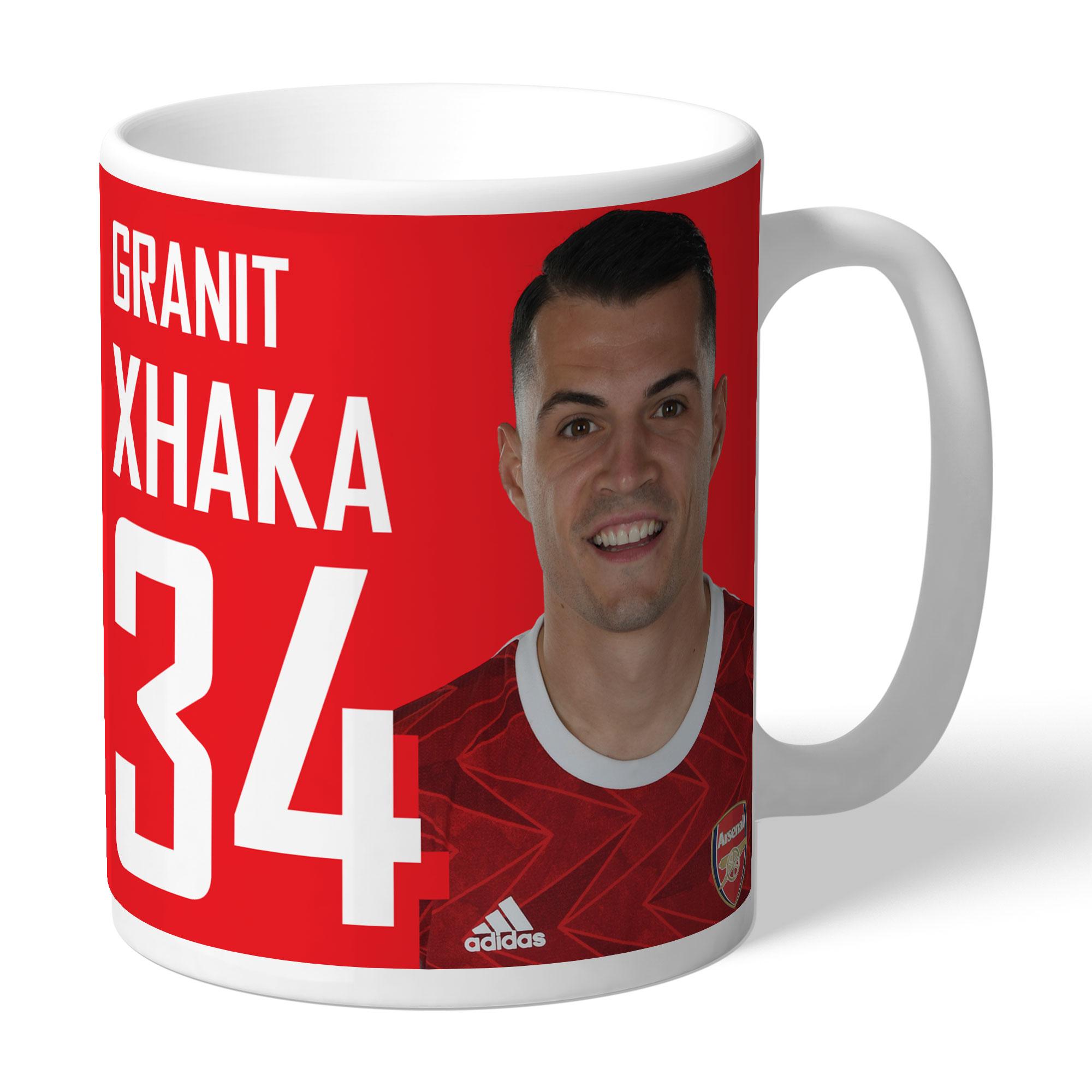 Arsenal FC Xhaka Autograph Mug