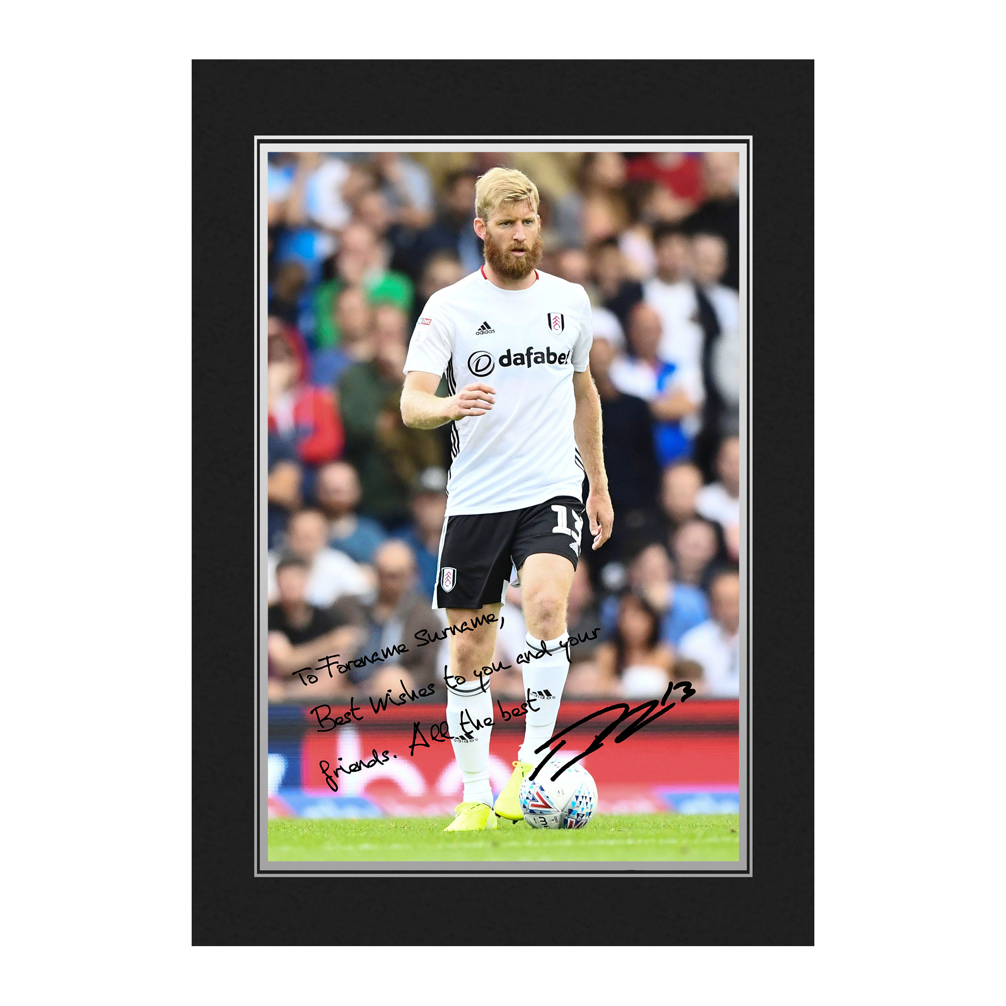 Fulham FC Ream Autograph Photo Folder