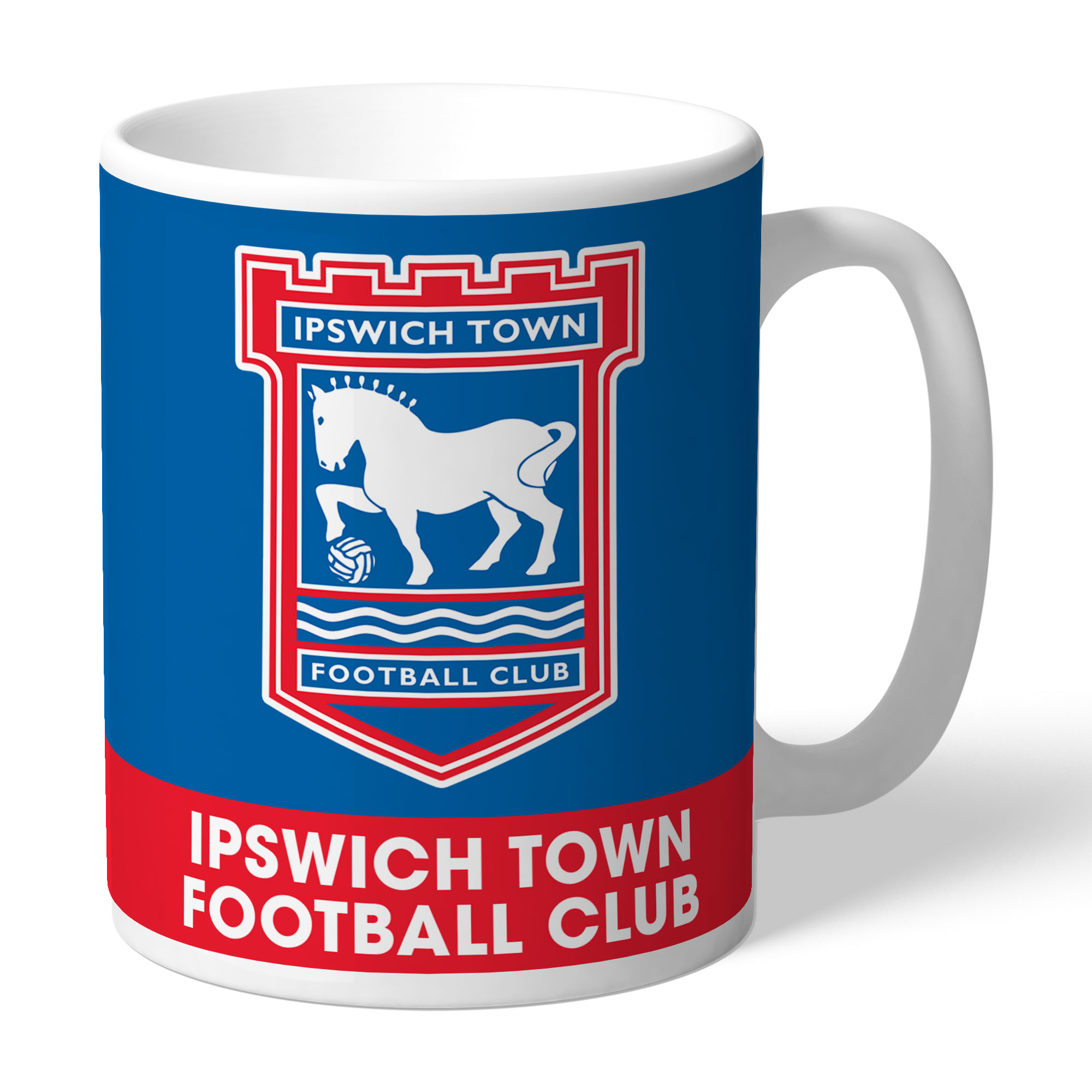 Ipswich Town FC Bold Crest Mug
